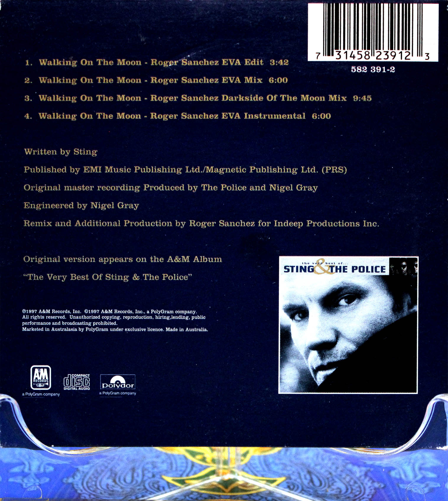 The police walking on the moon 02