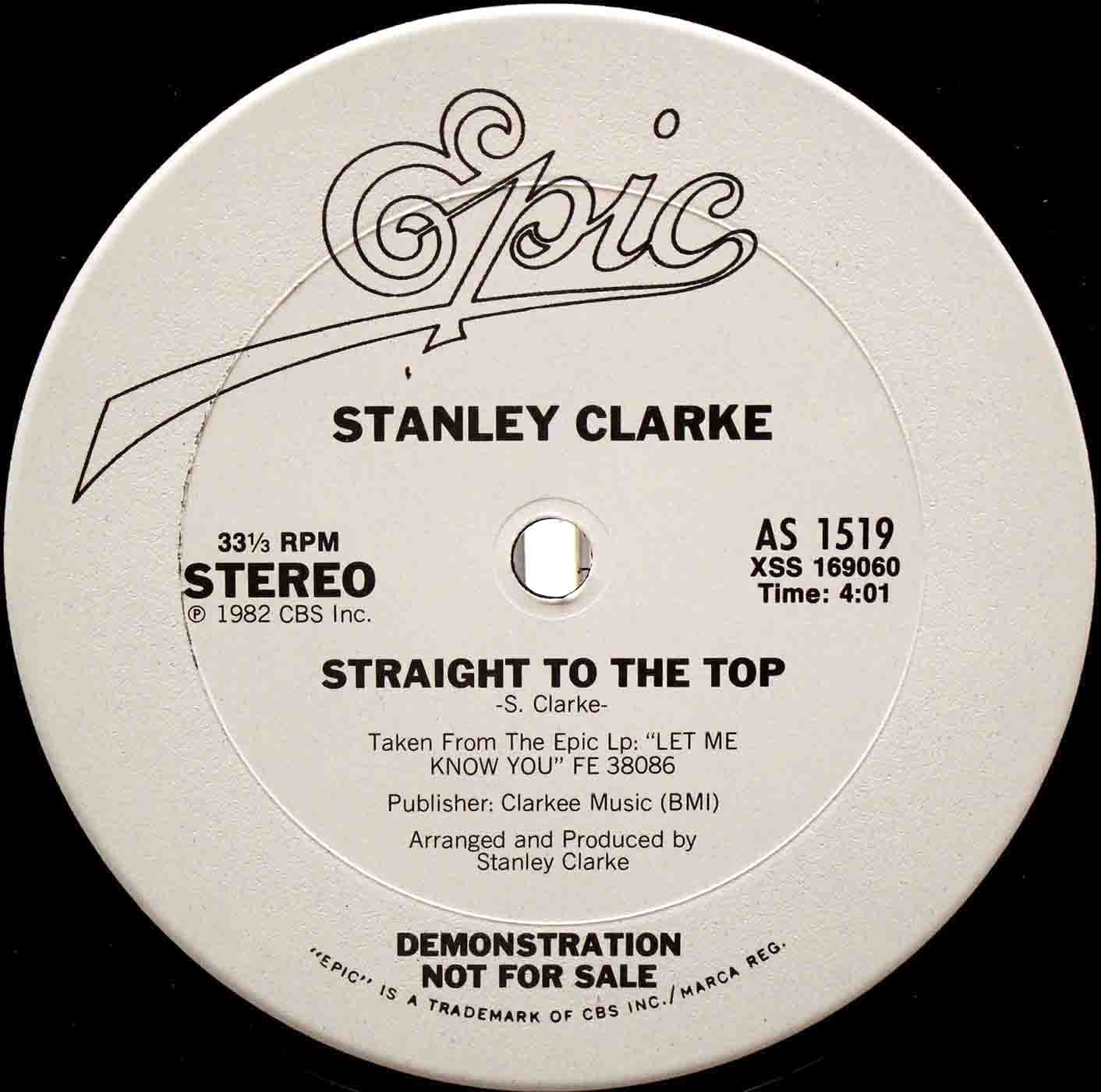 Stanley Clarke - Straight To The Top 02