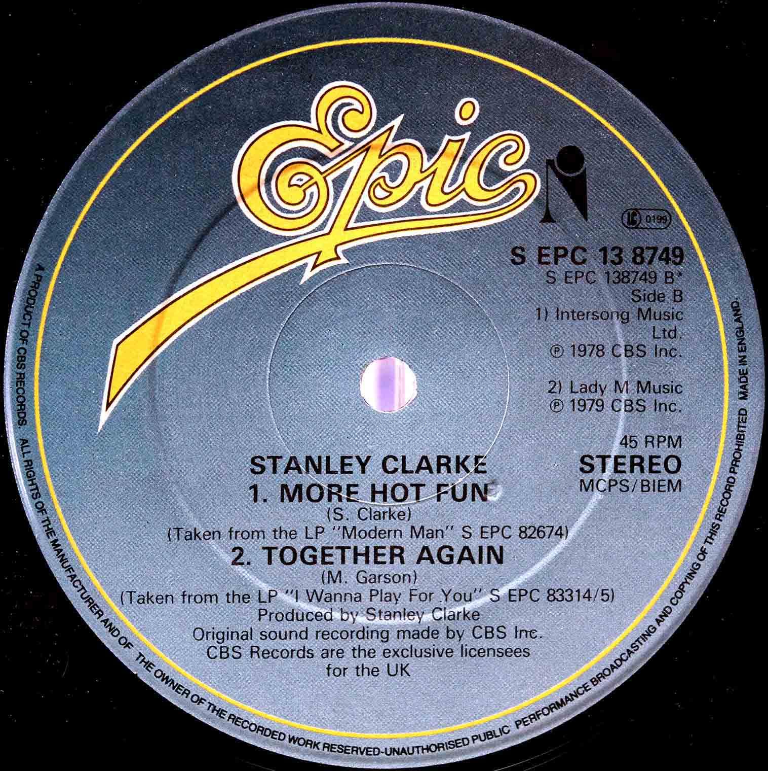 Stanley Clarke – More Hot Fun 02