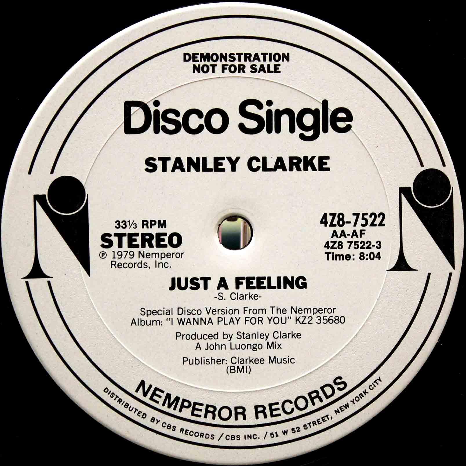 STANLEY CLARKE JUST A FEELING 02
