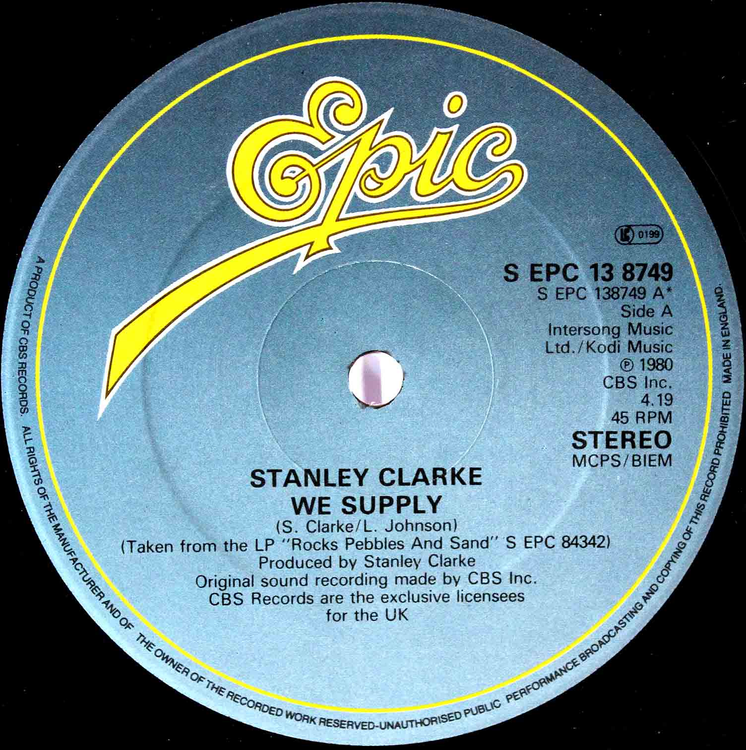 Stanley Clarke – We Supply 02
