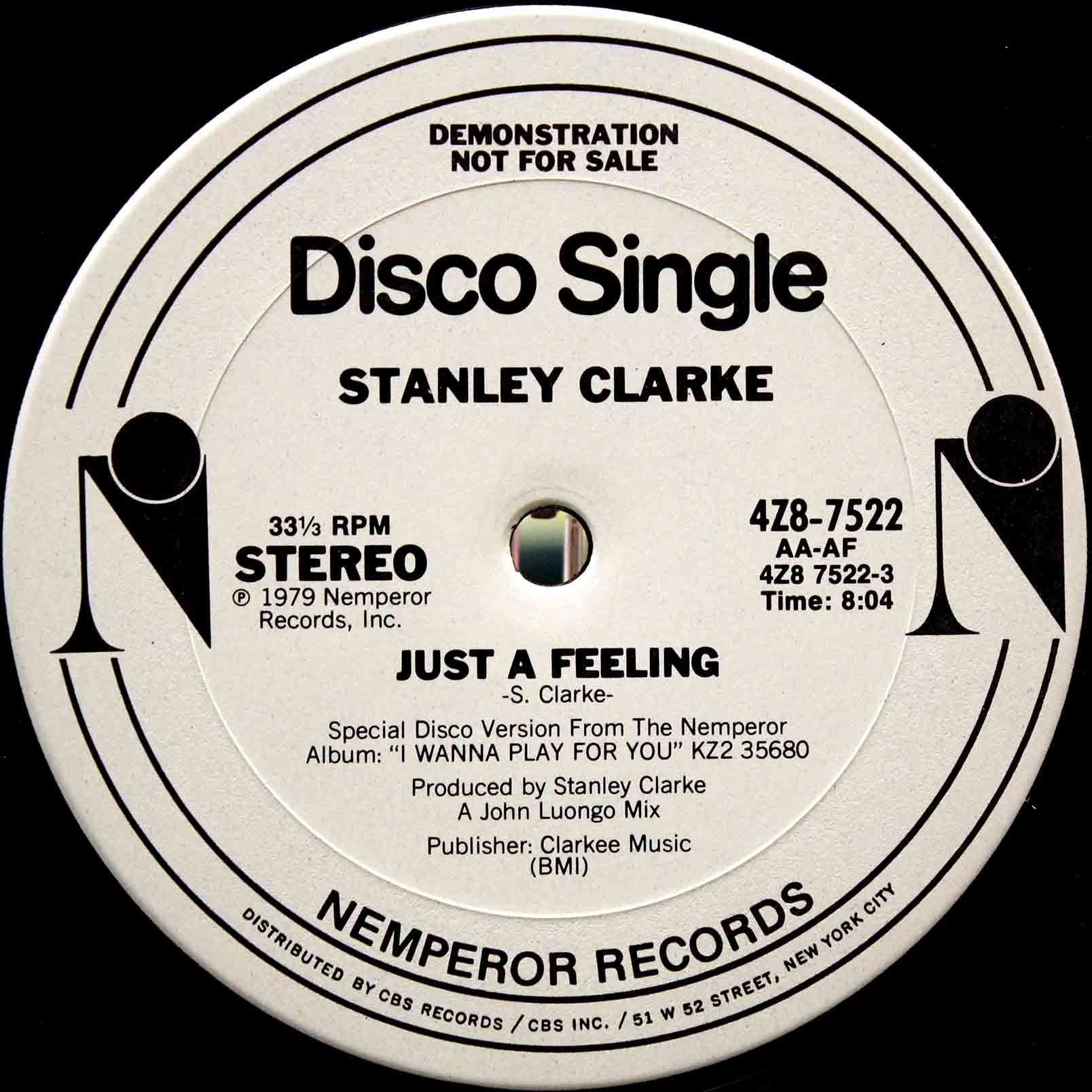 STANLEY CLARKE JUST A FEELING 02