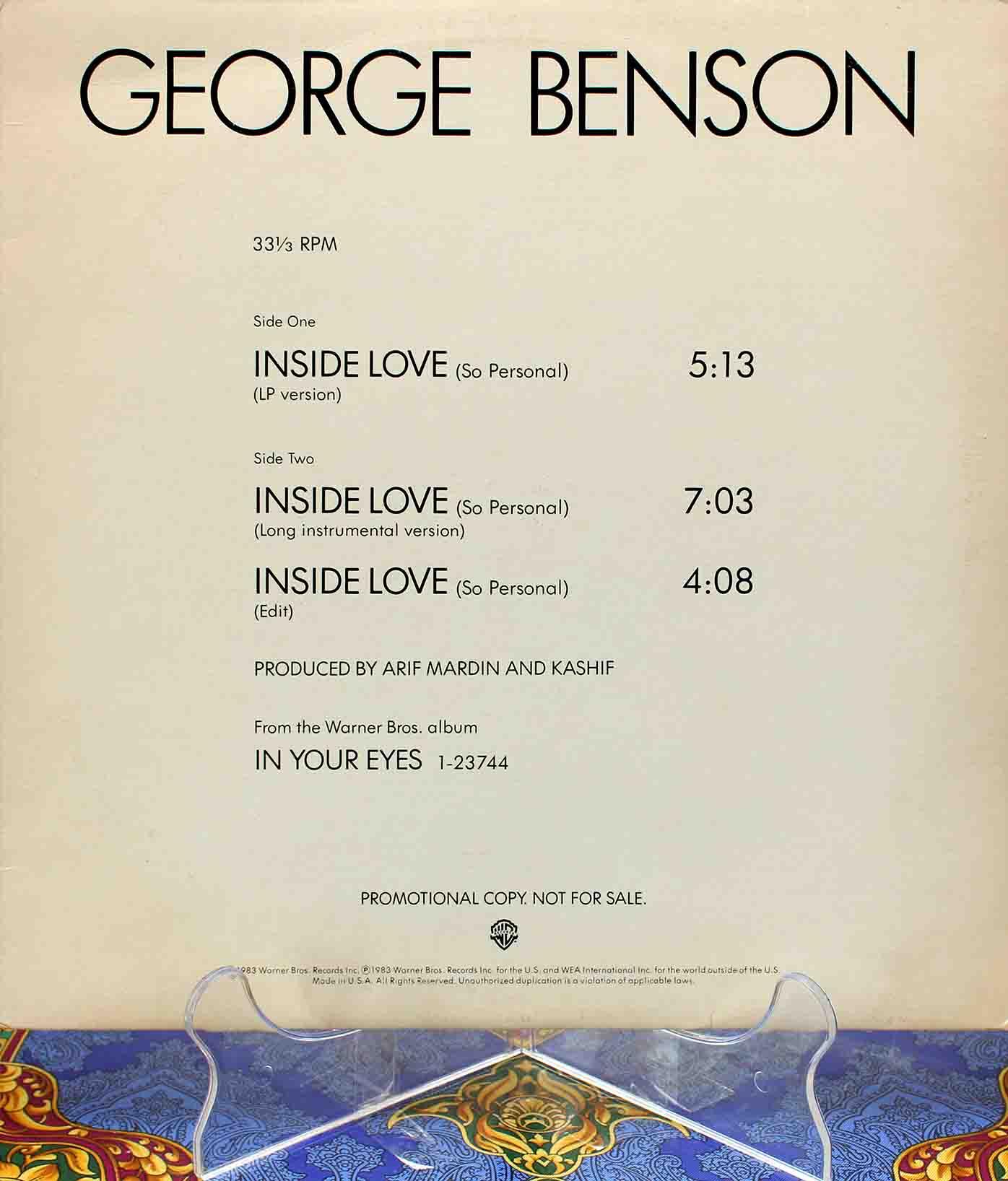 George Benson – Inside Love 01