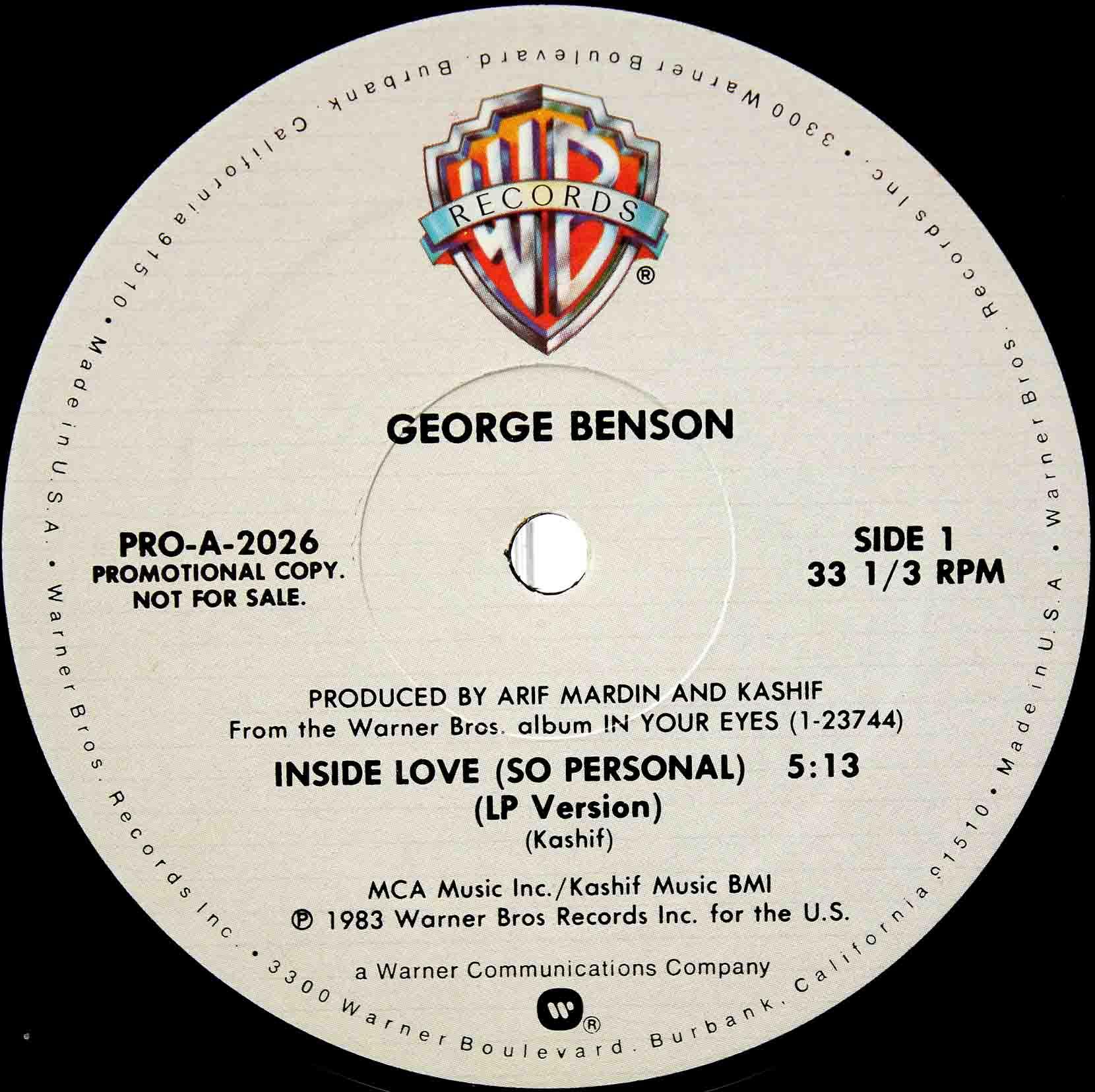 George Benson – Inside Love 02