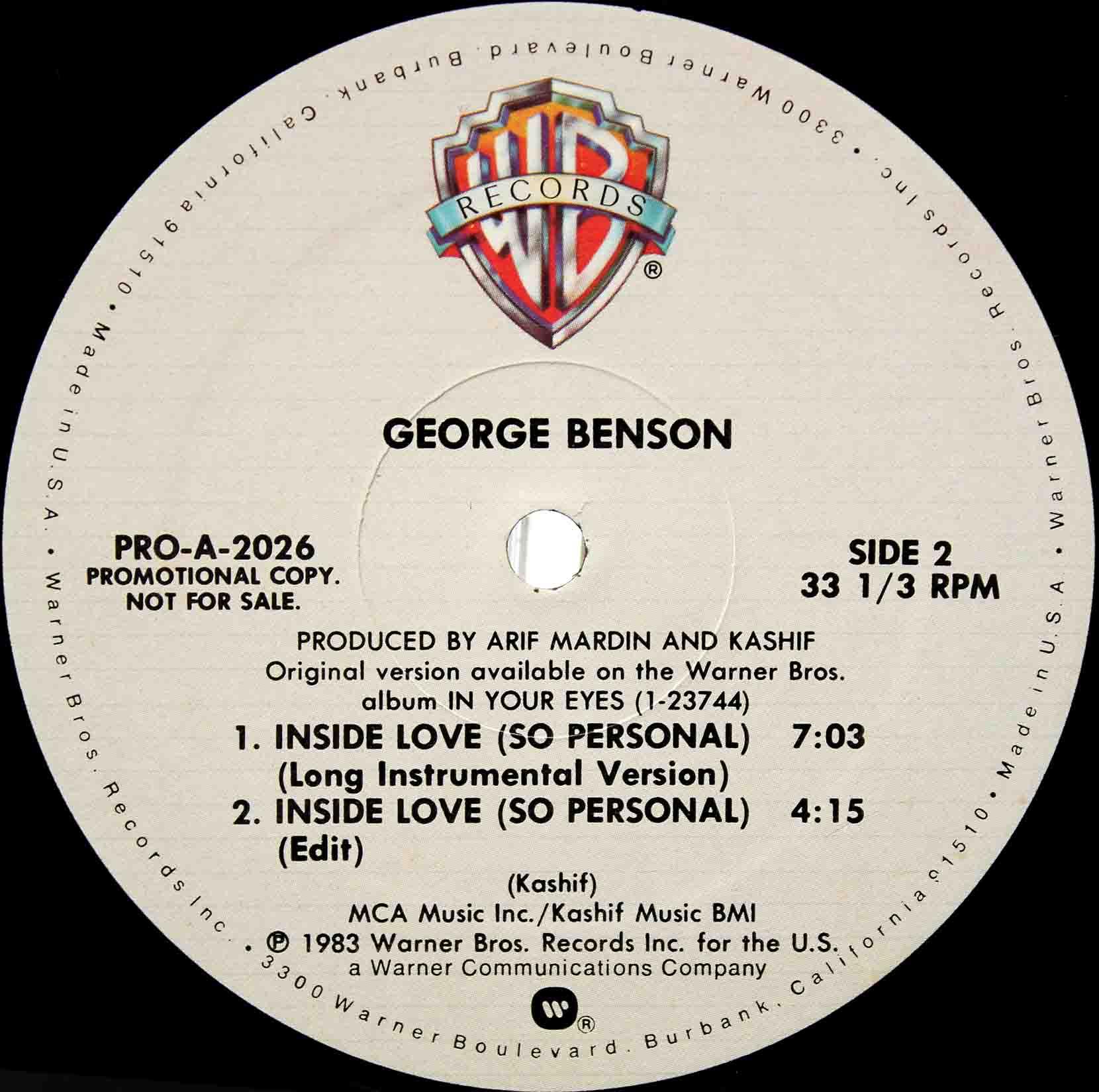 George Benson – Inside Love 03
