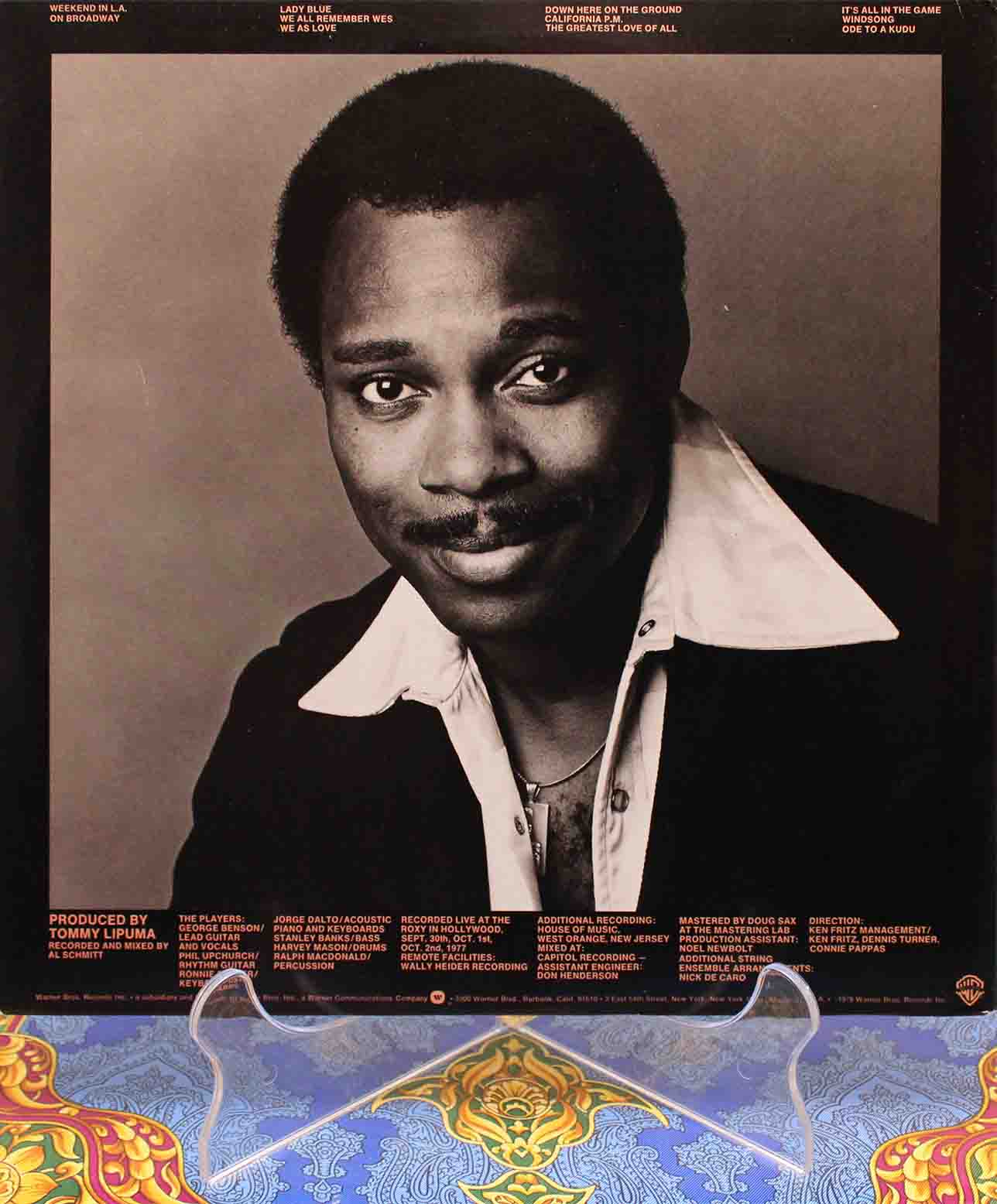 George Benson ‎– Weekend In LA 02