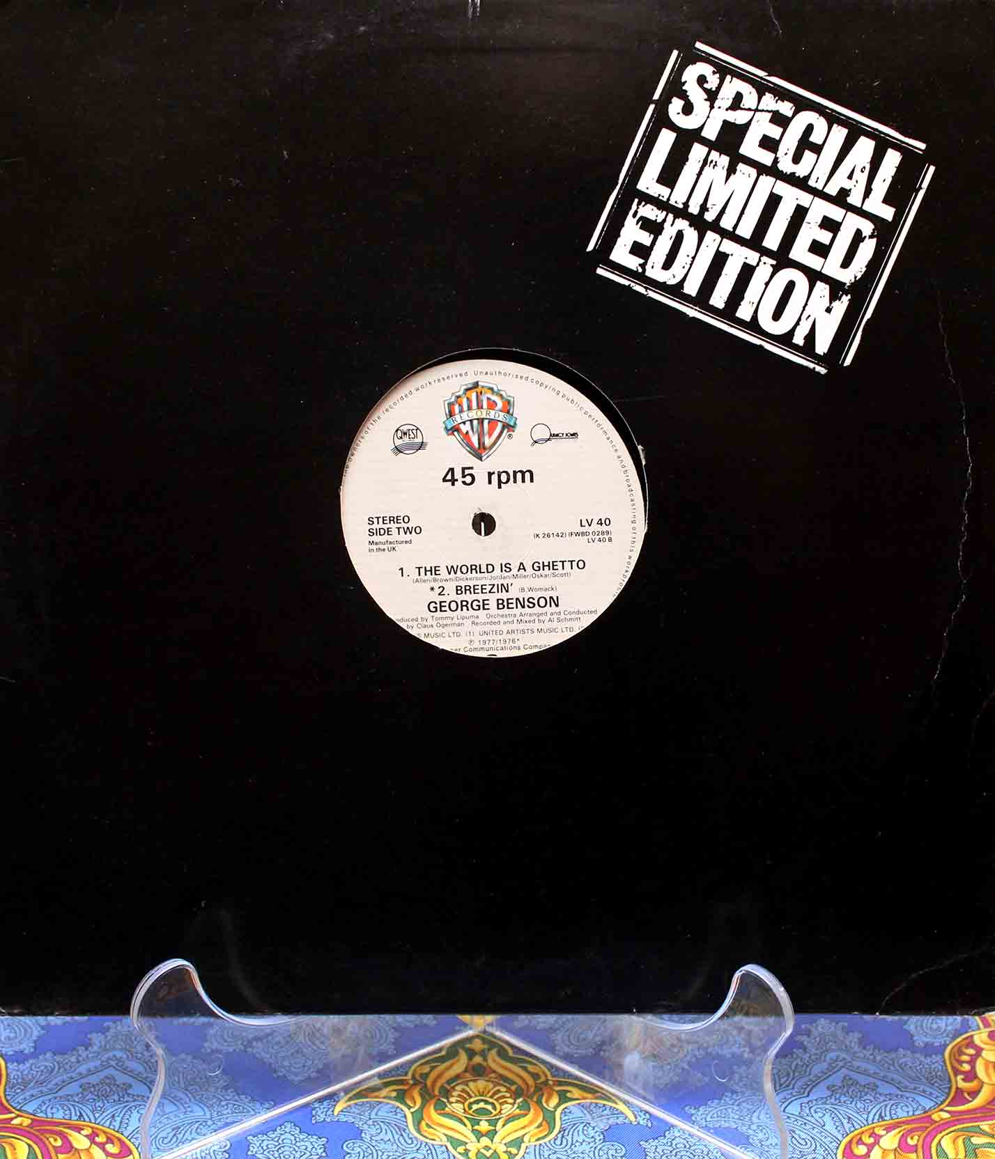George Benson – the world is getto 01
