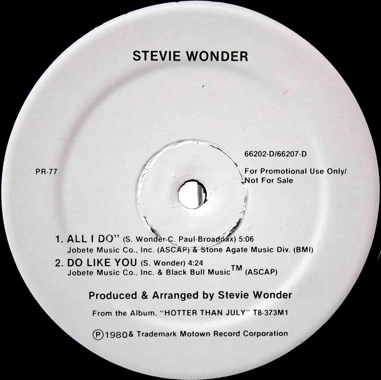 Stevie Wonder - do like you 02