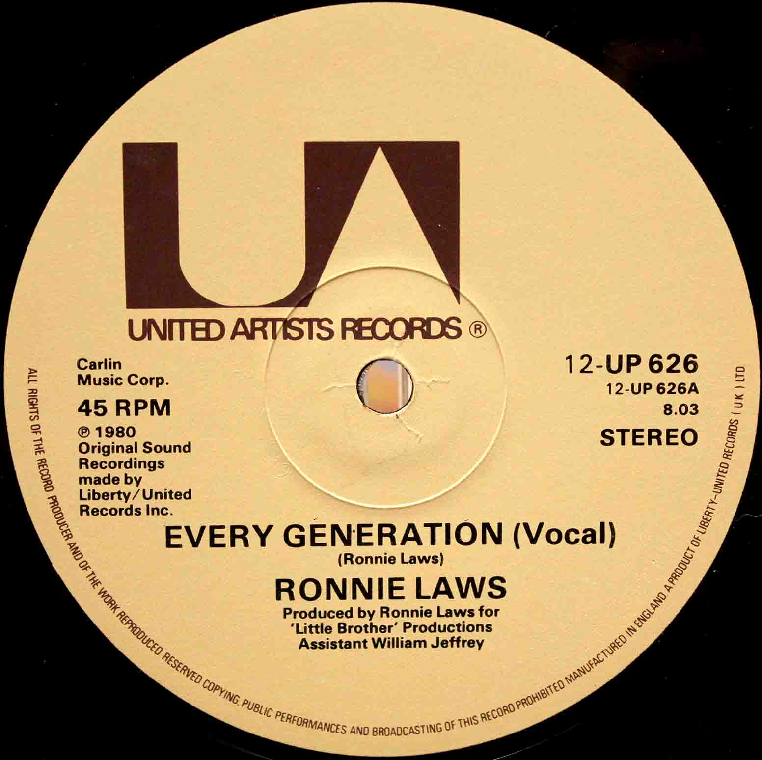 Ronnie Laws – 12 Every Generation 05