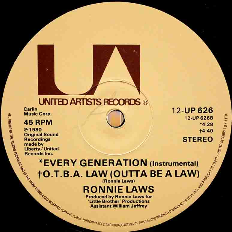 Ronnie Laws – 12 Every Generation 06