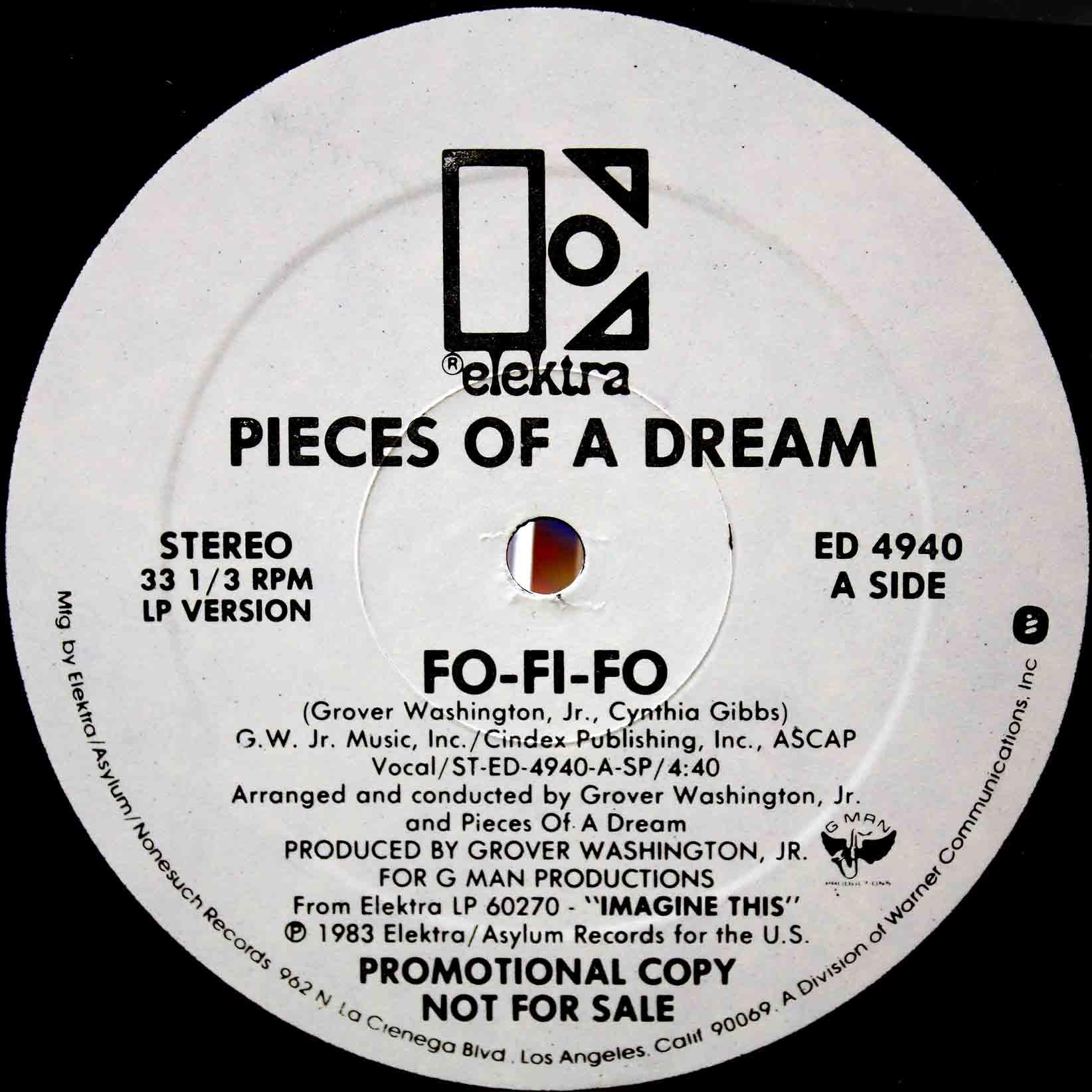 Pieces Of A Dream – Fo-Fi-Fo 02