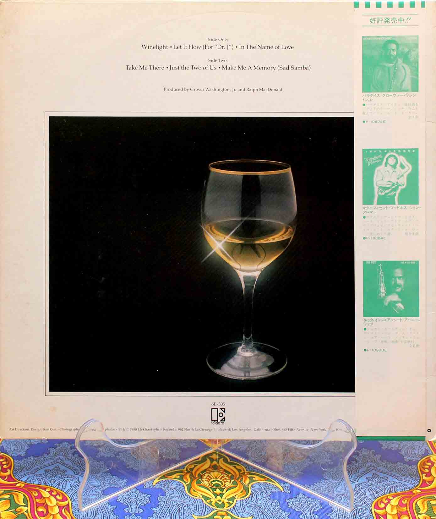 Grover Washington, Jr ‎- Winelight LP 02