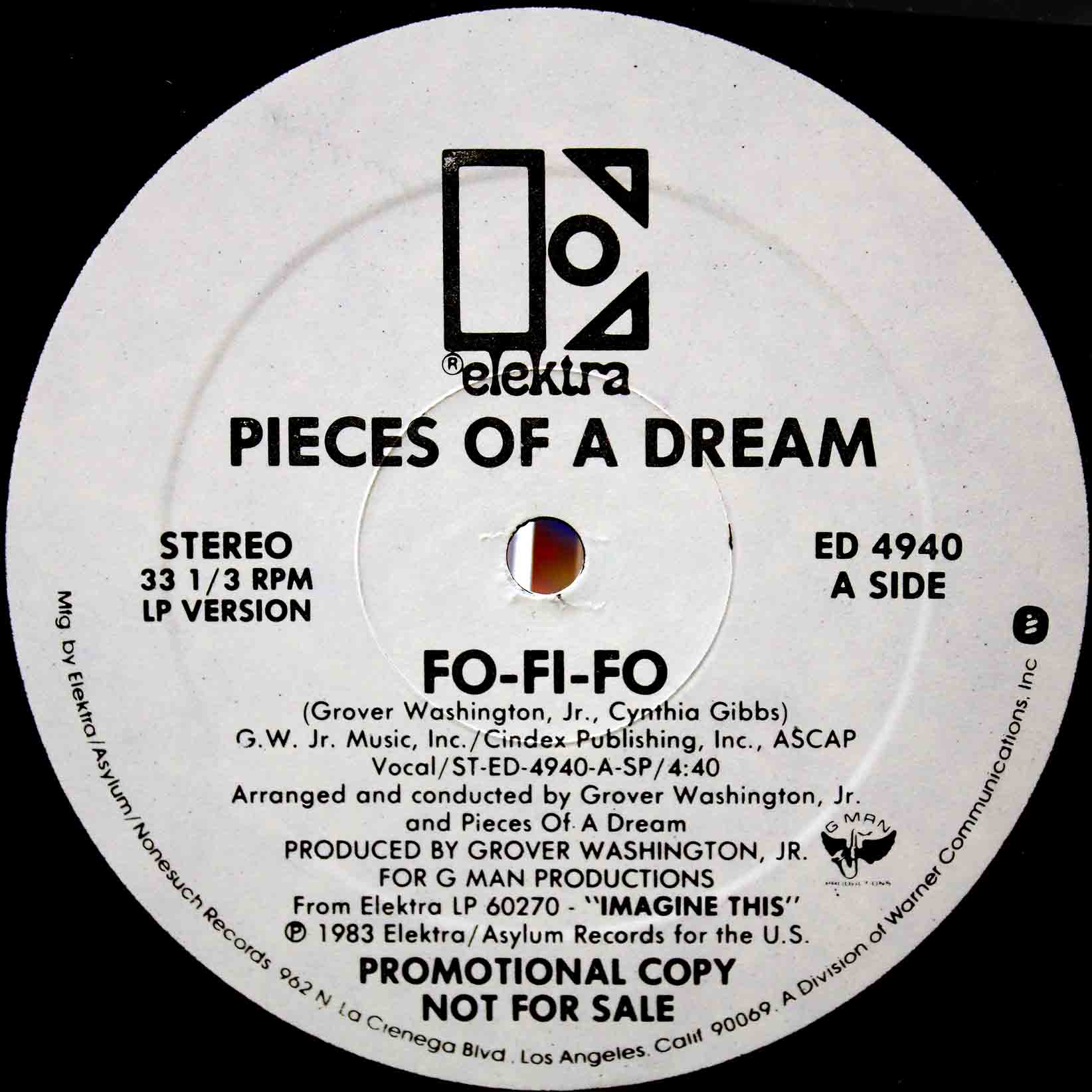Pieces Of A Dream ‎– Fo-Fi-Fo 02