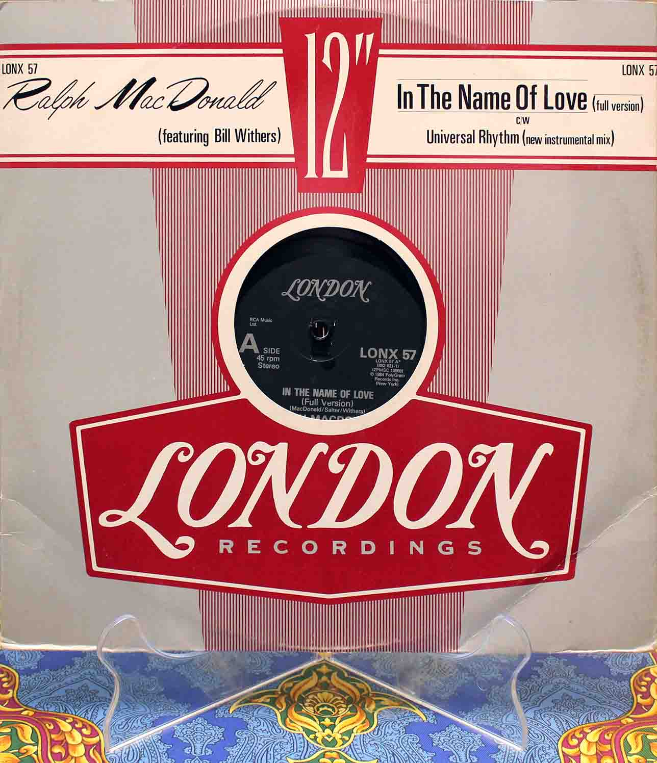 Ralph MacDonald Bill Withers In The Name Of Love 01