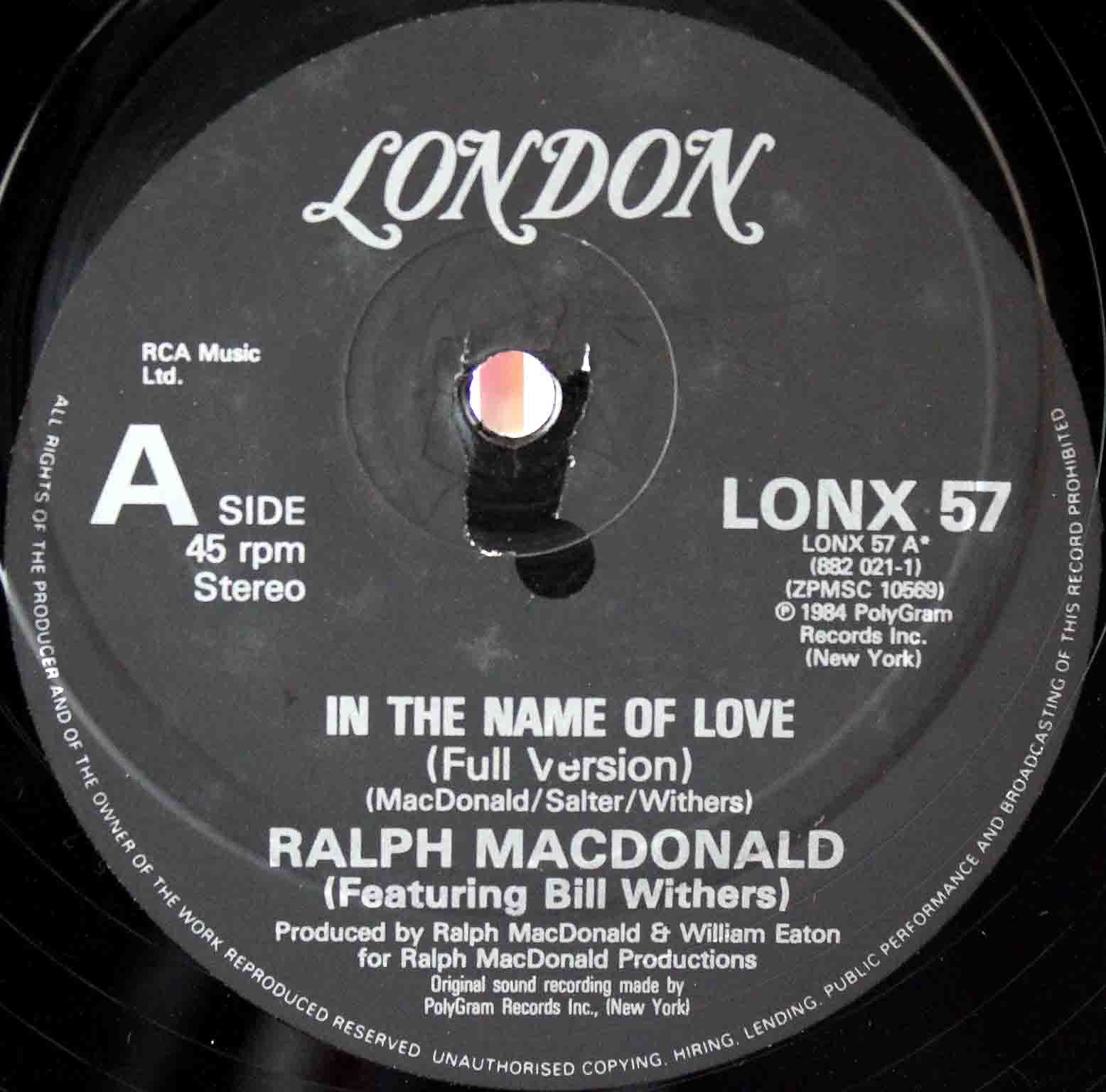 Ralph MacDonald Bill Withers In The Name Of Love 03