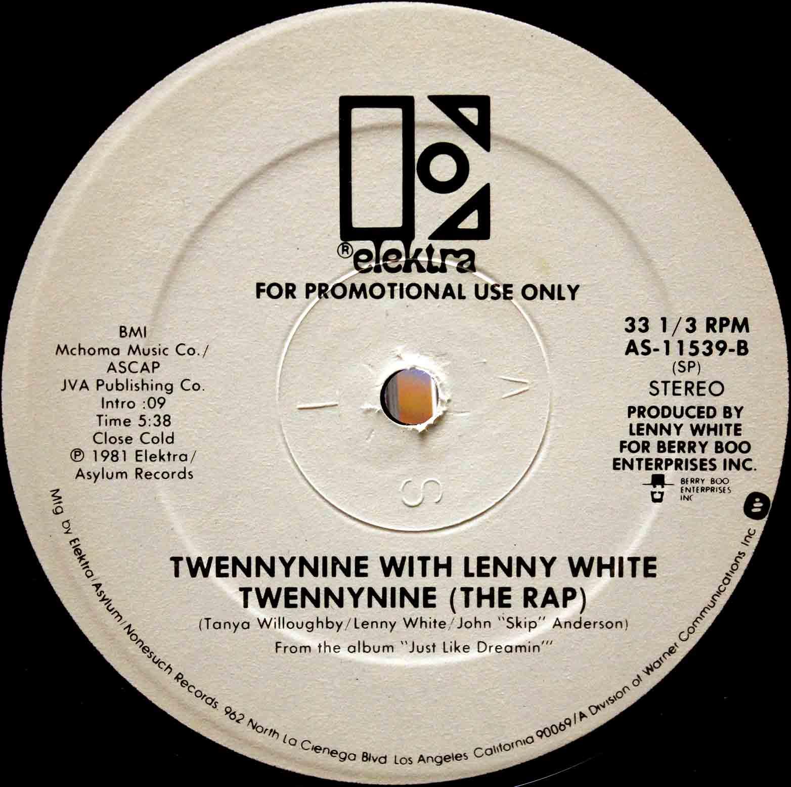 Twennynine With Lenny White - Twennynine (The Rap) 03