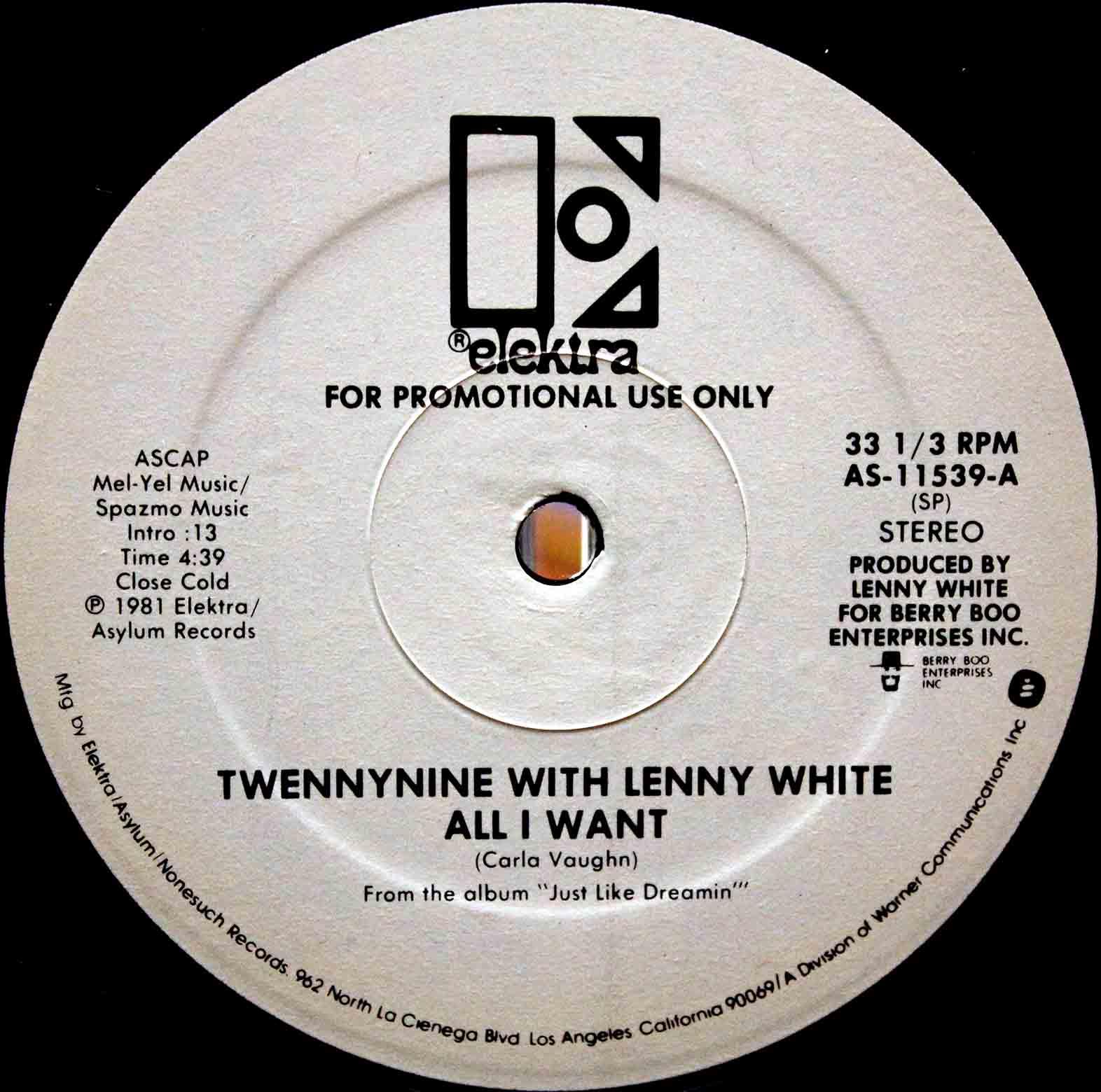 Twennynine With Lenny White - Twennynine (The Rap) 04