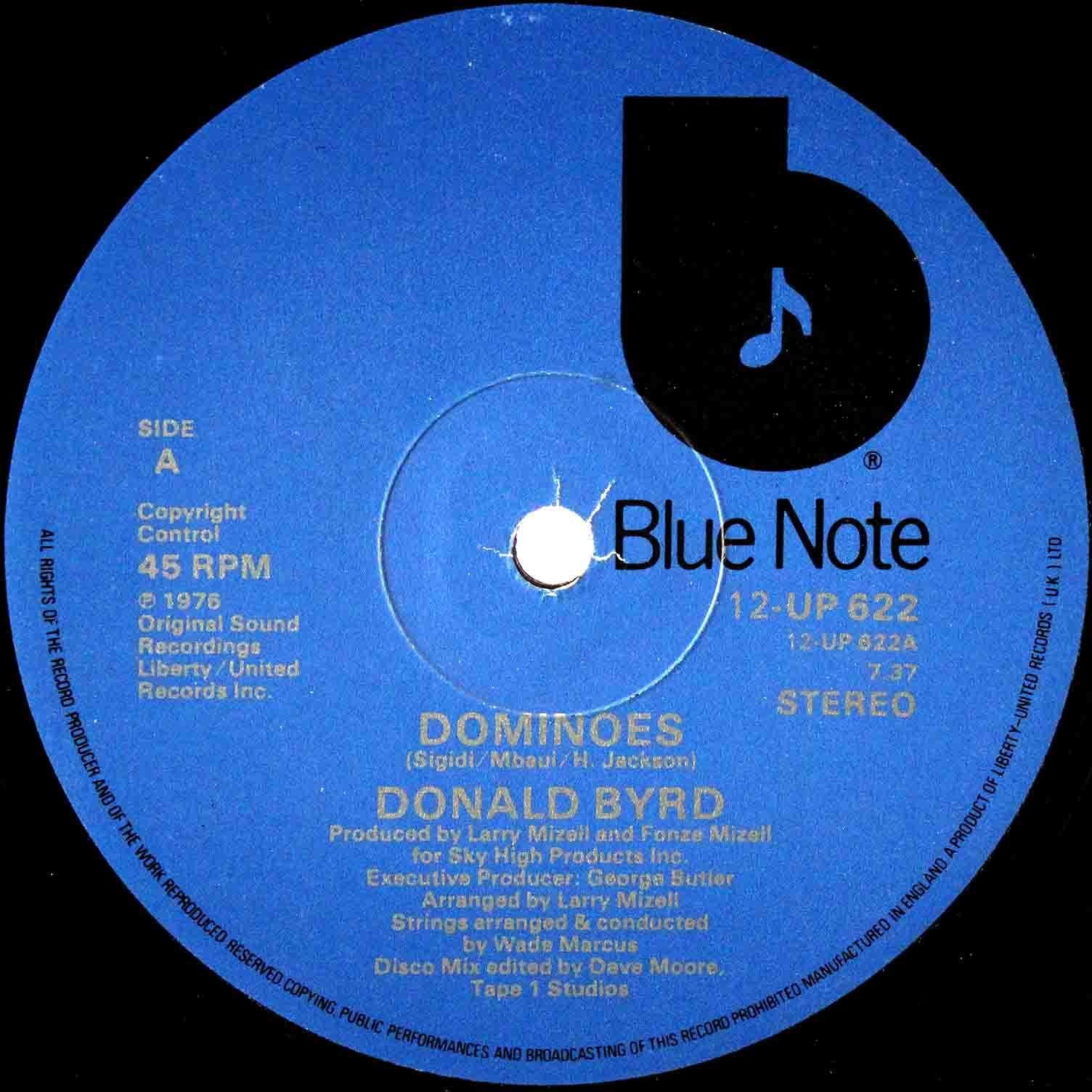 Donald Byrd Dominoes UK 02