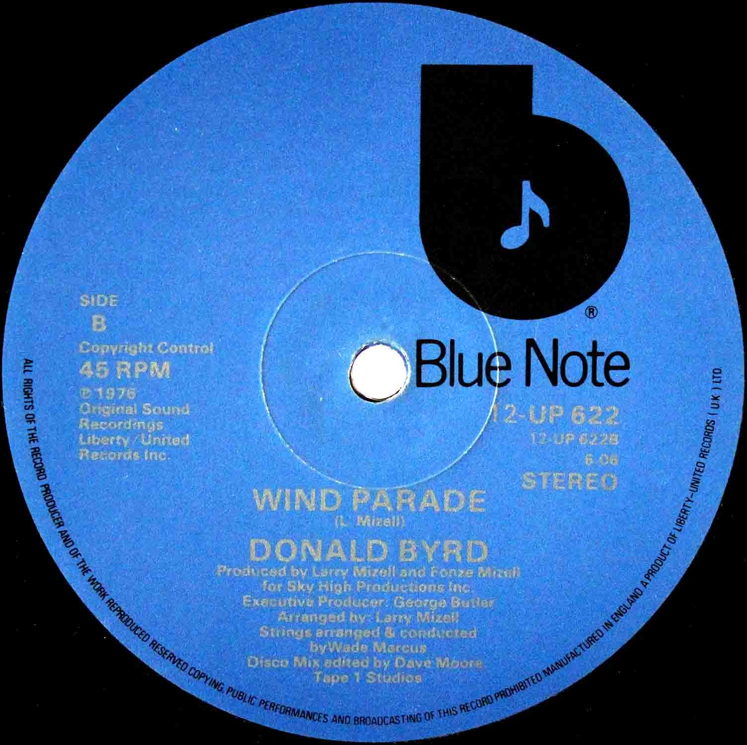 Donald Byrd Wind Parade UK 02