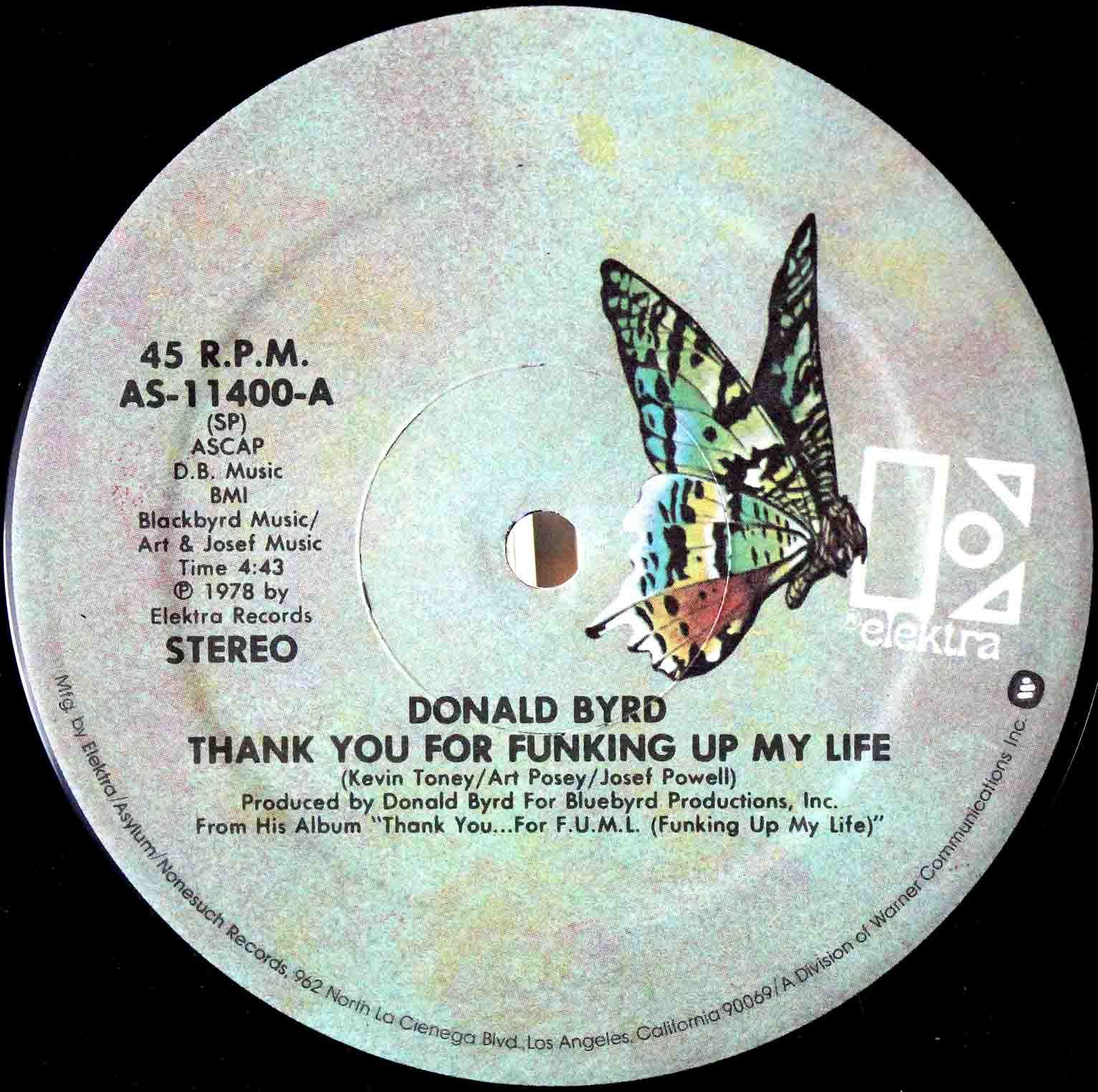 Donald Byrd ‎– Lovin you US 04