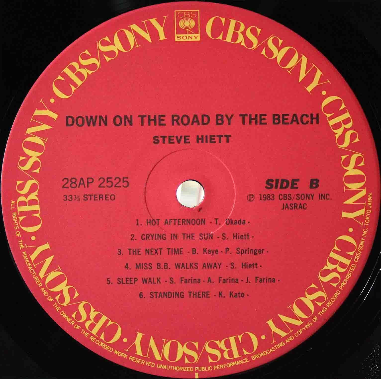 Steve Hiett – Down On The Road By The Beach 04
