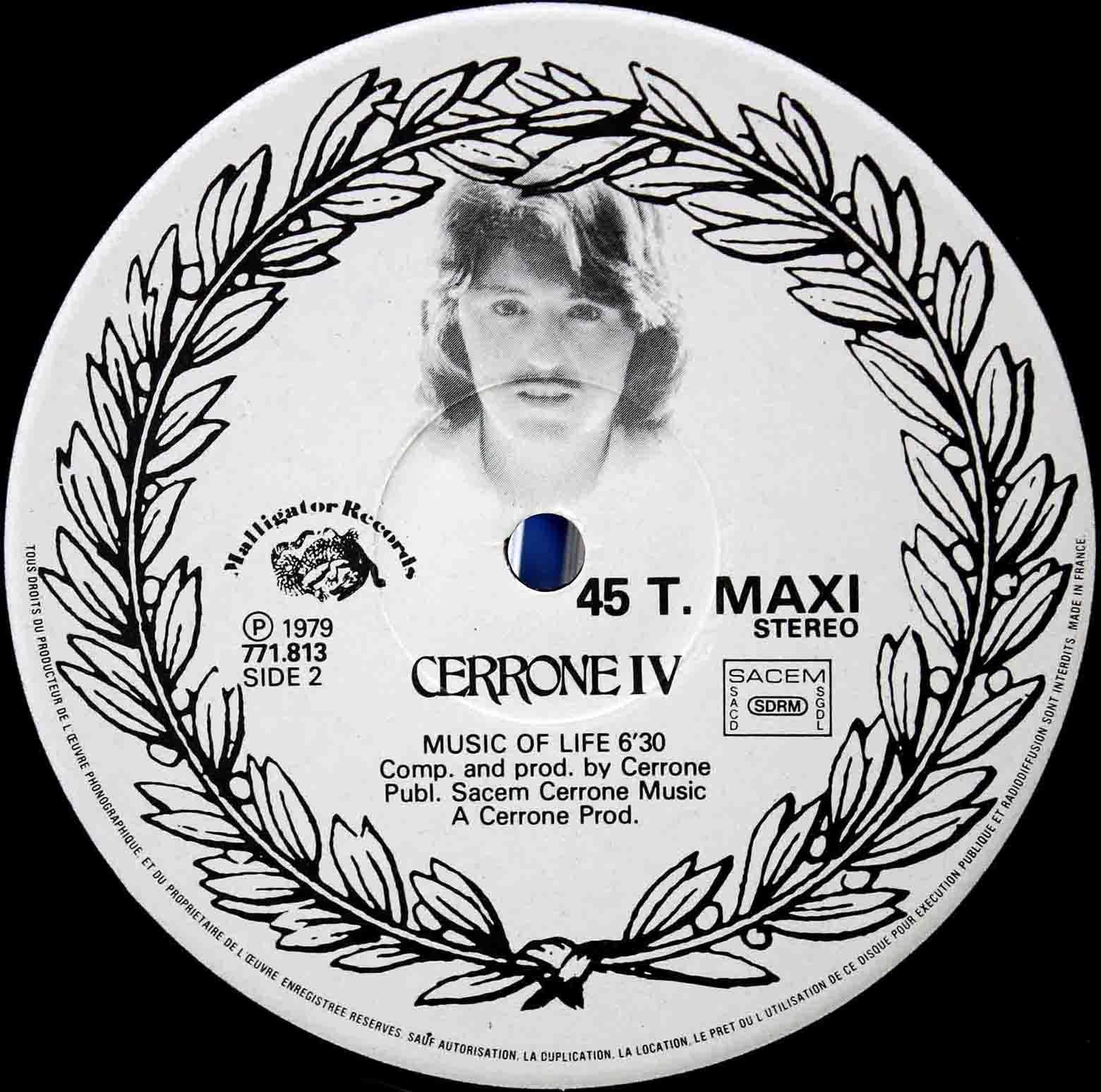 Cerrone Music Of Life 03