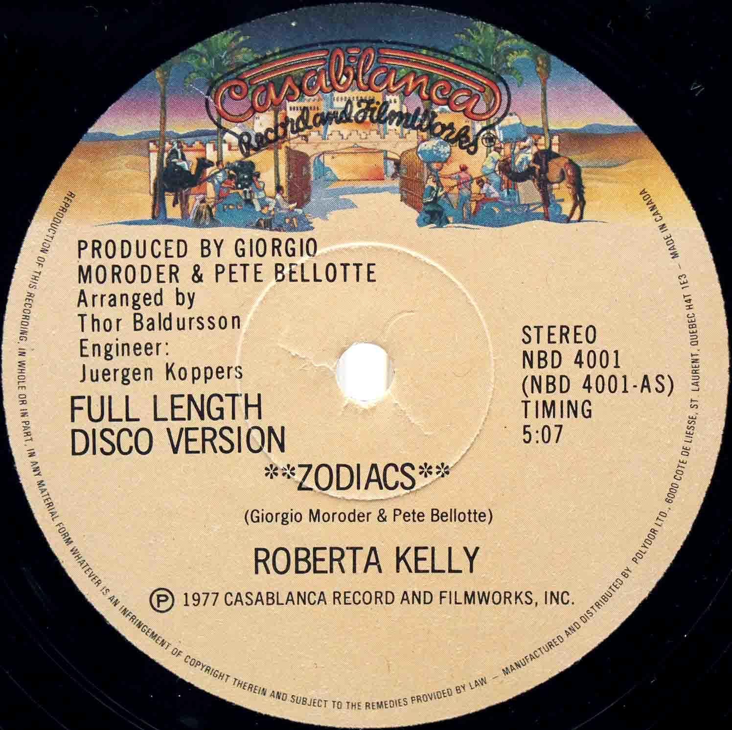 Roberta Kelly – Zodiacs 12 03