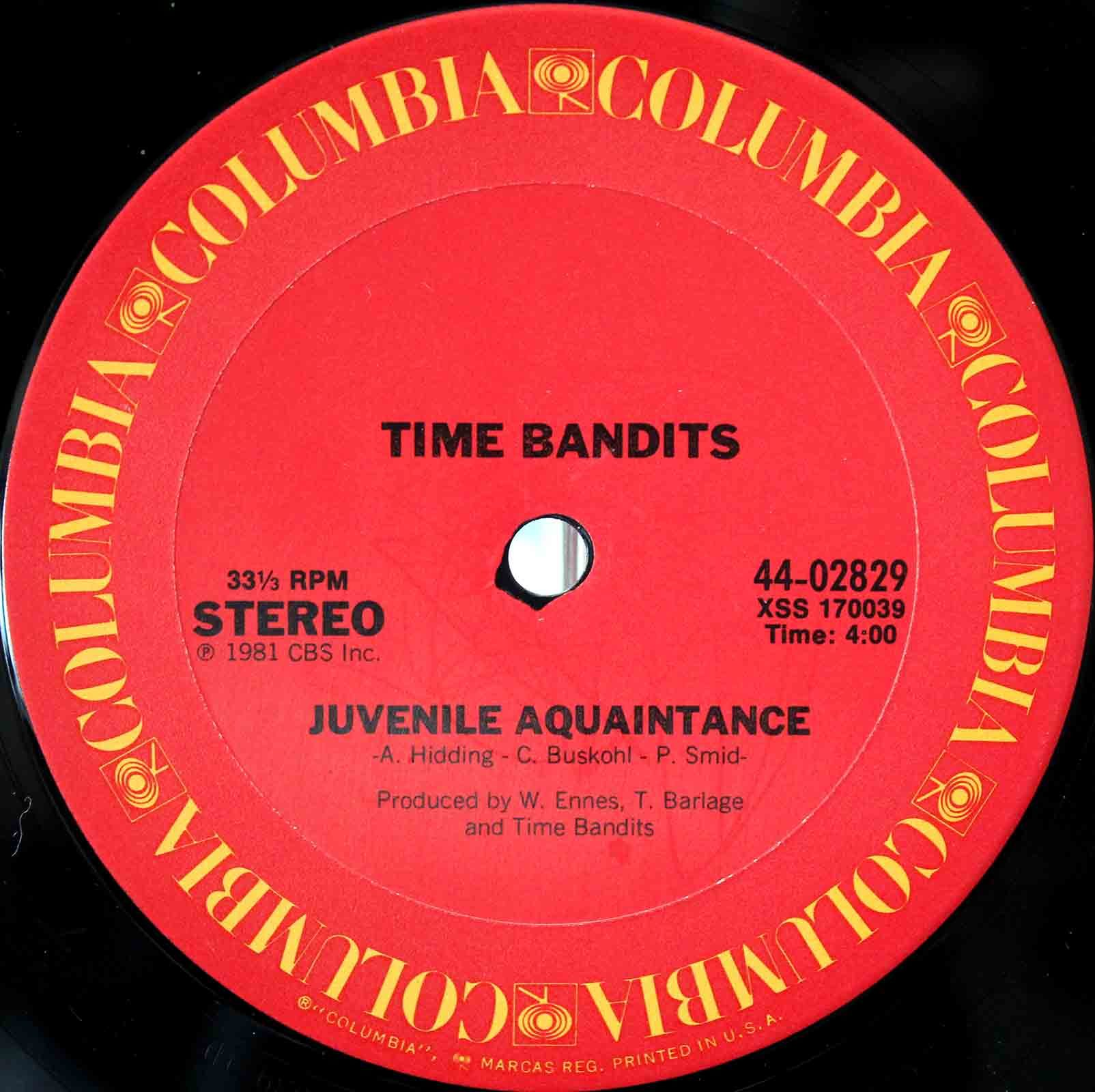 Time Bandits ‎– Live It Up 04