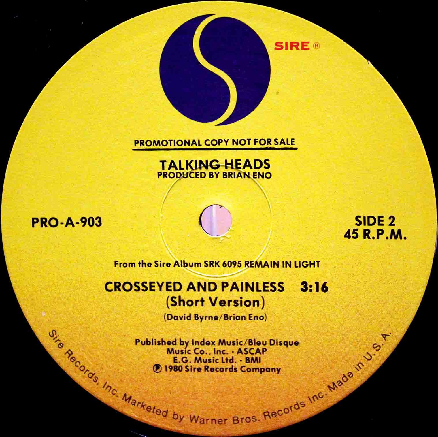 Talking Heads Crosseyed and Painless 04