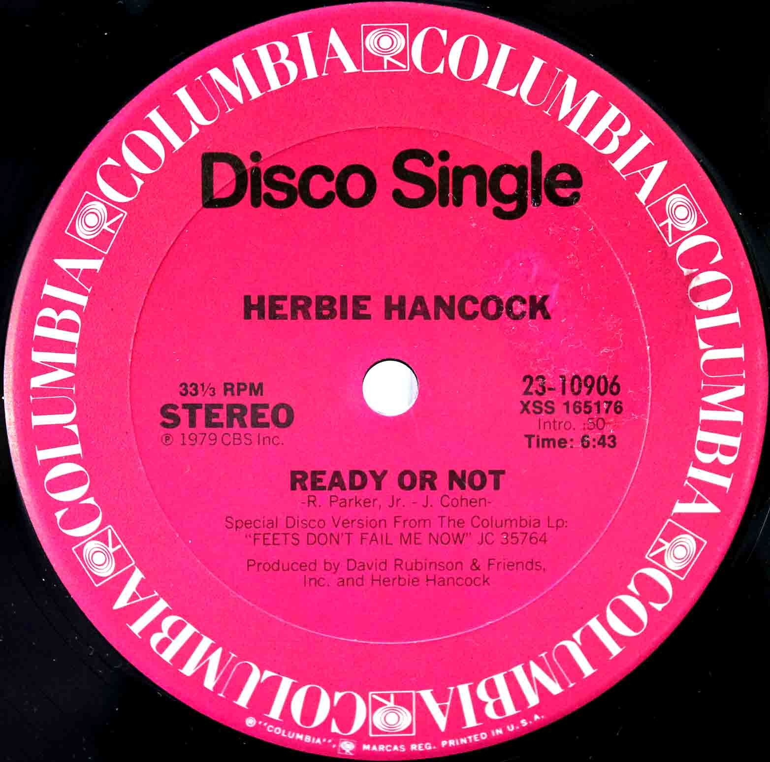 Herbie Hancook Ready Or Not 02