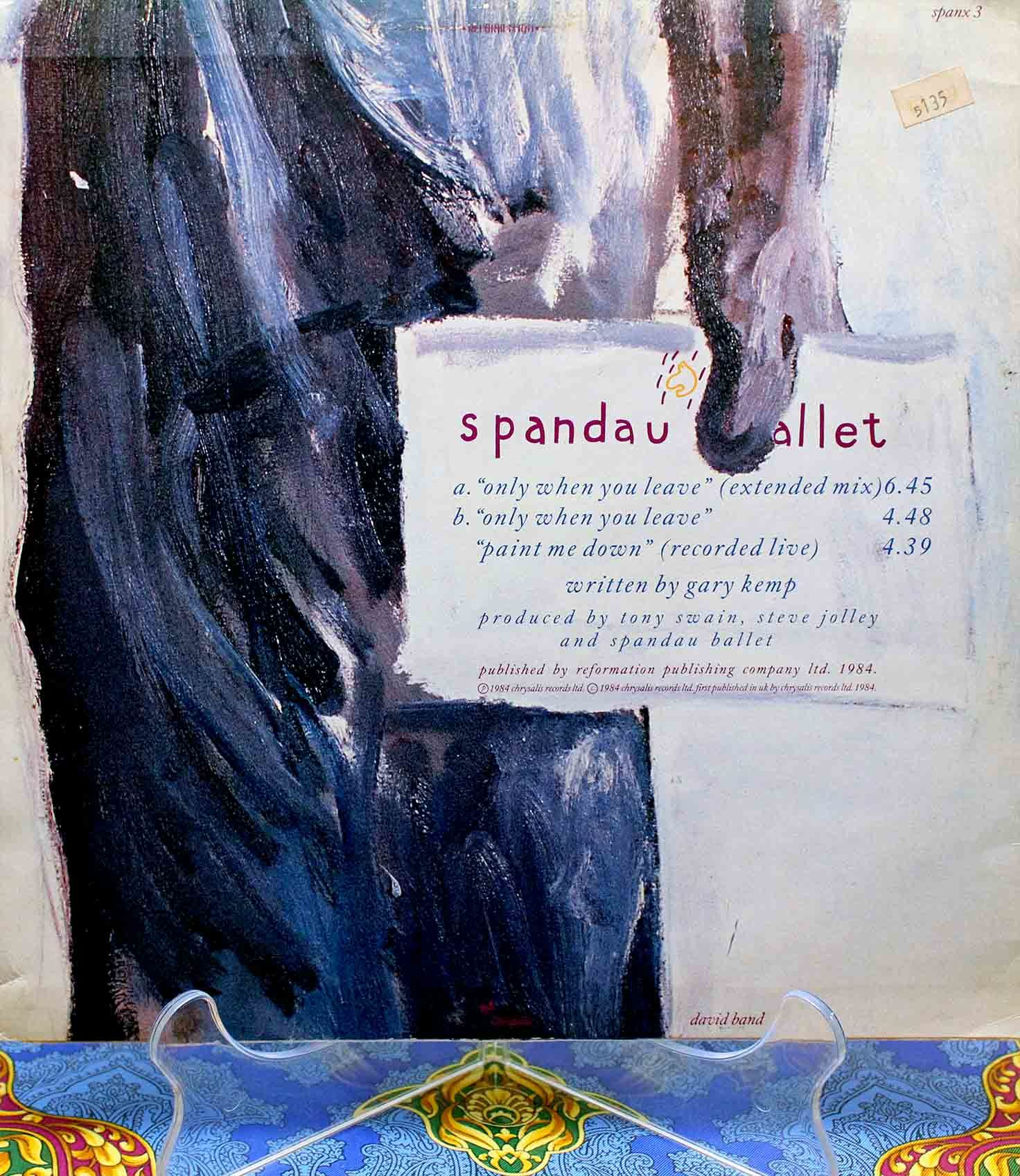 Spandau Ballet – Only When You Leave 02