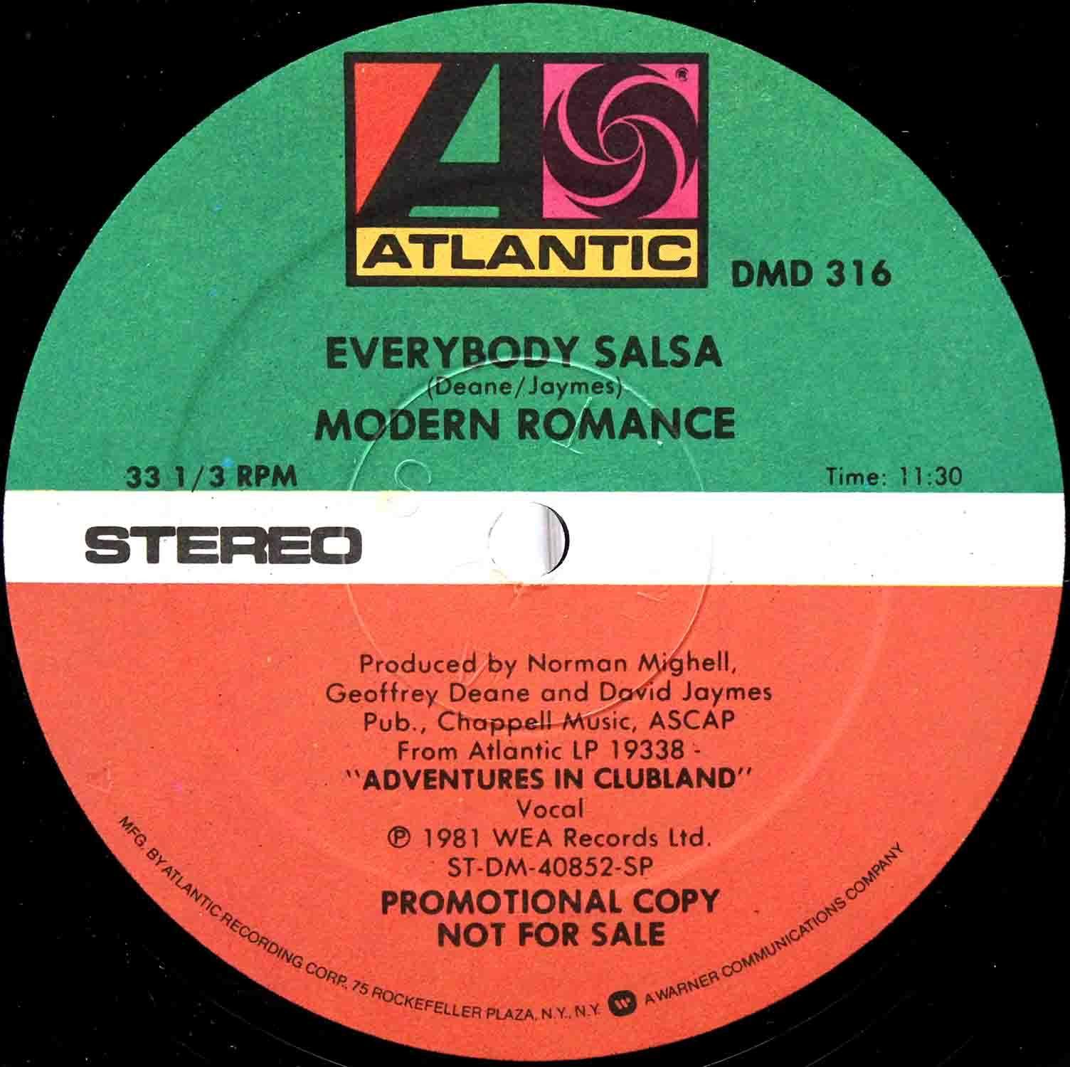 Modern Romance - Everybody Salsa 03