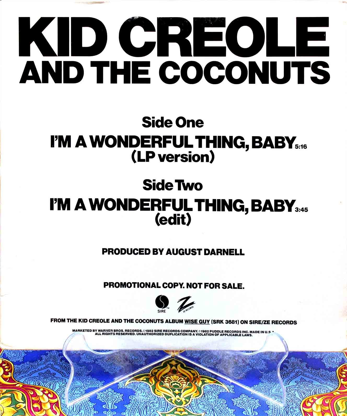 Kid Creole and the Coconuts 01