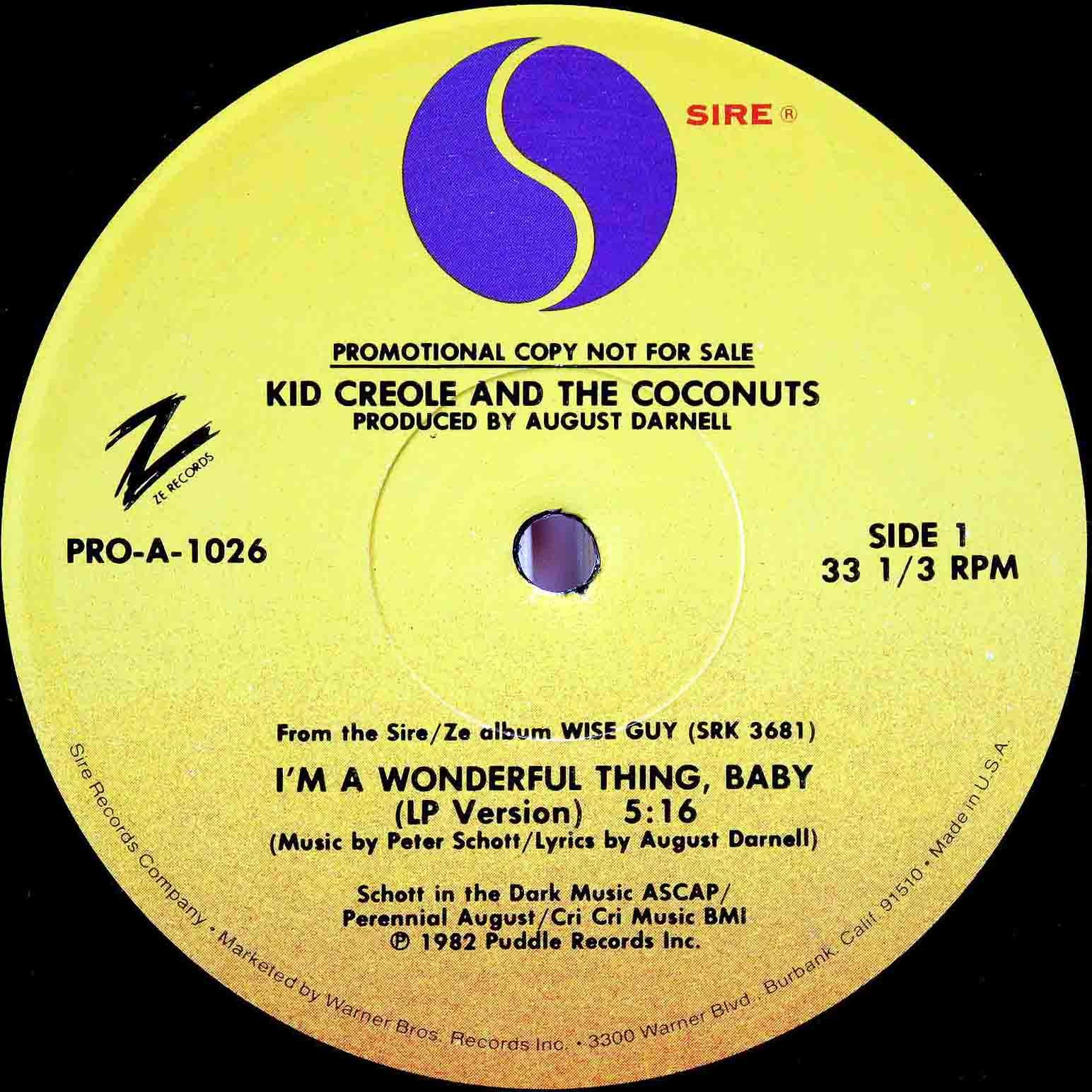 Kid Creole and the Coconuts 02