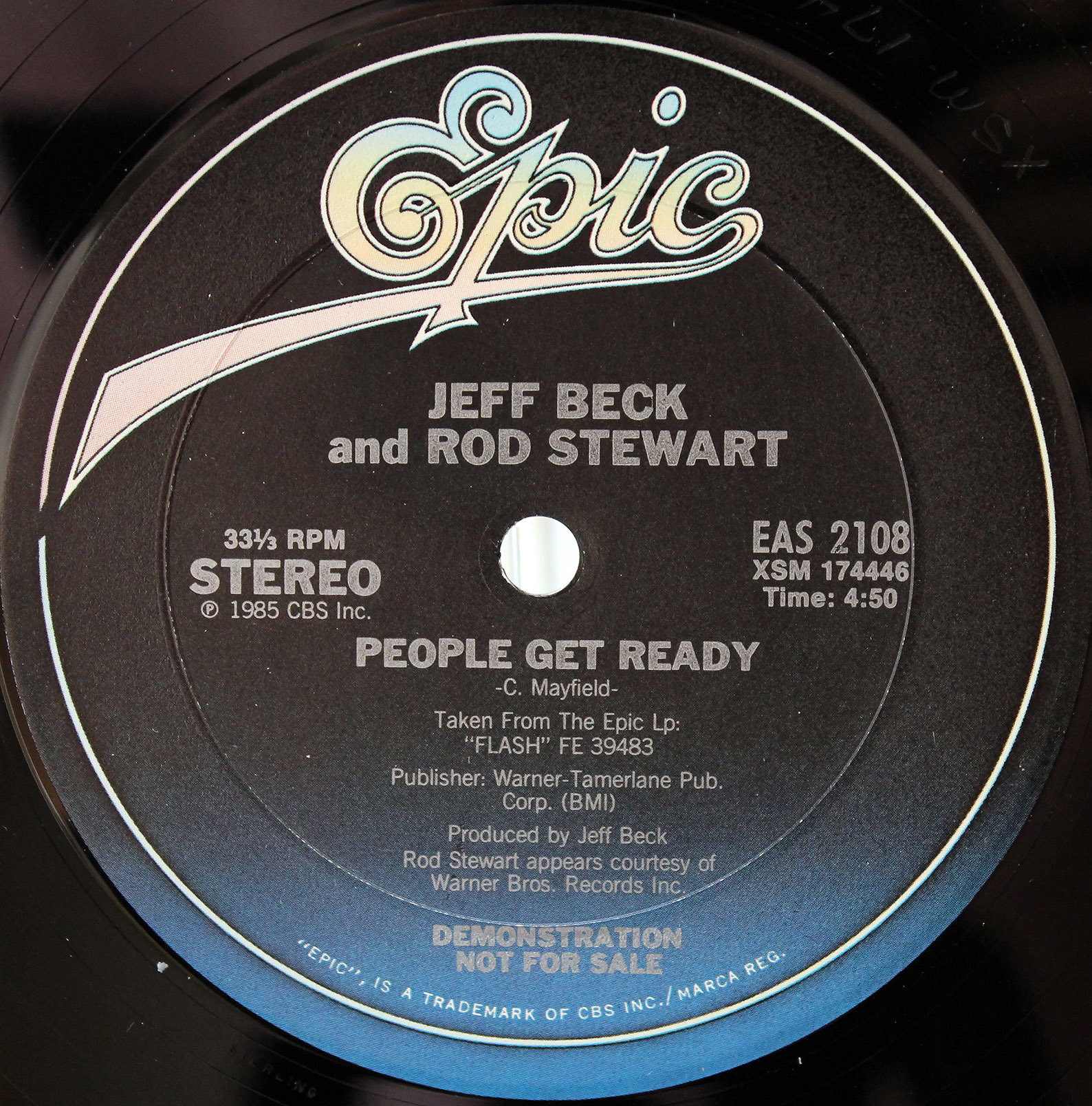 jeff beck and rod stewart ‎ people get ready 01