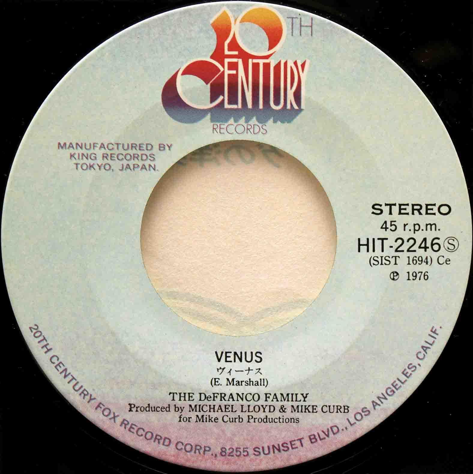 Frankie Avalon – Venus 07