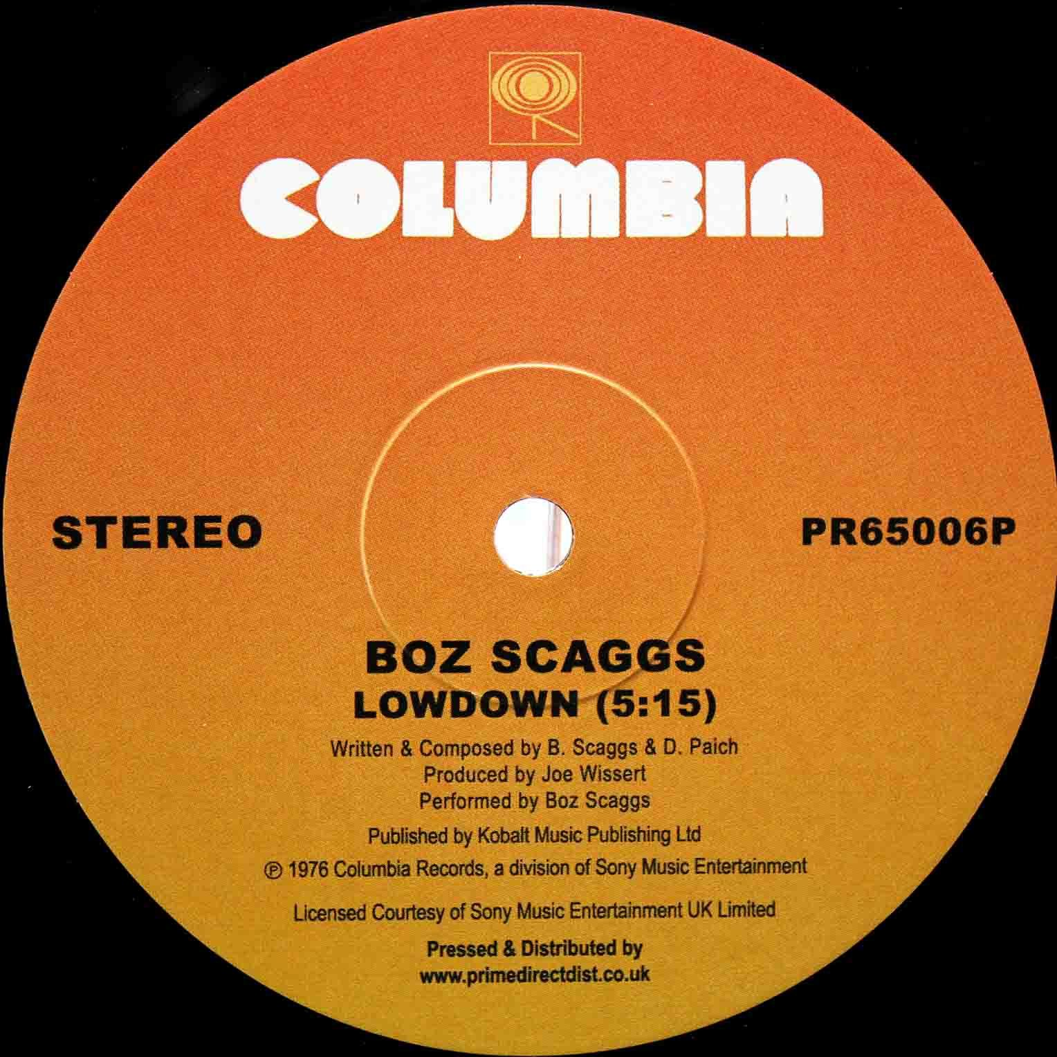 boz Scaggs Lowdown UK 03