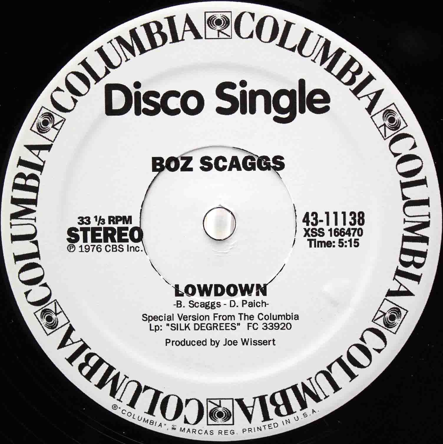 boz Scaggs Lowdown 02