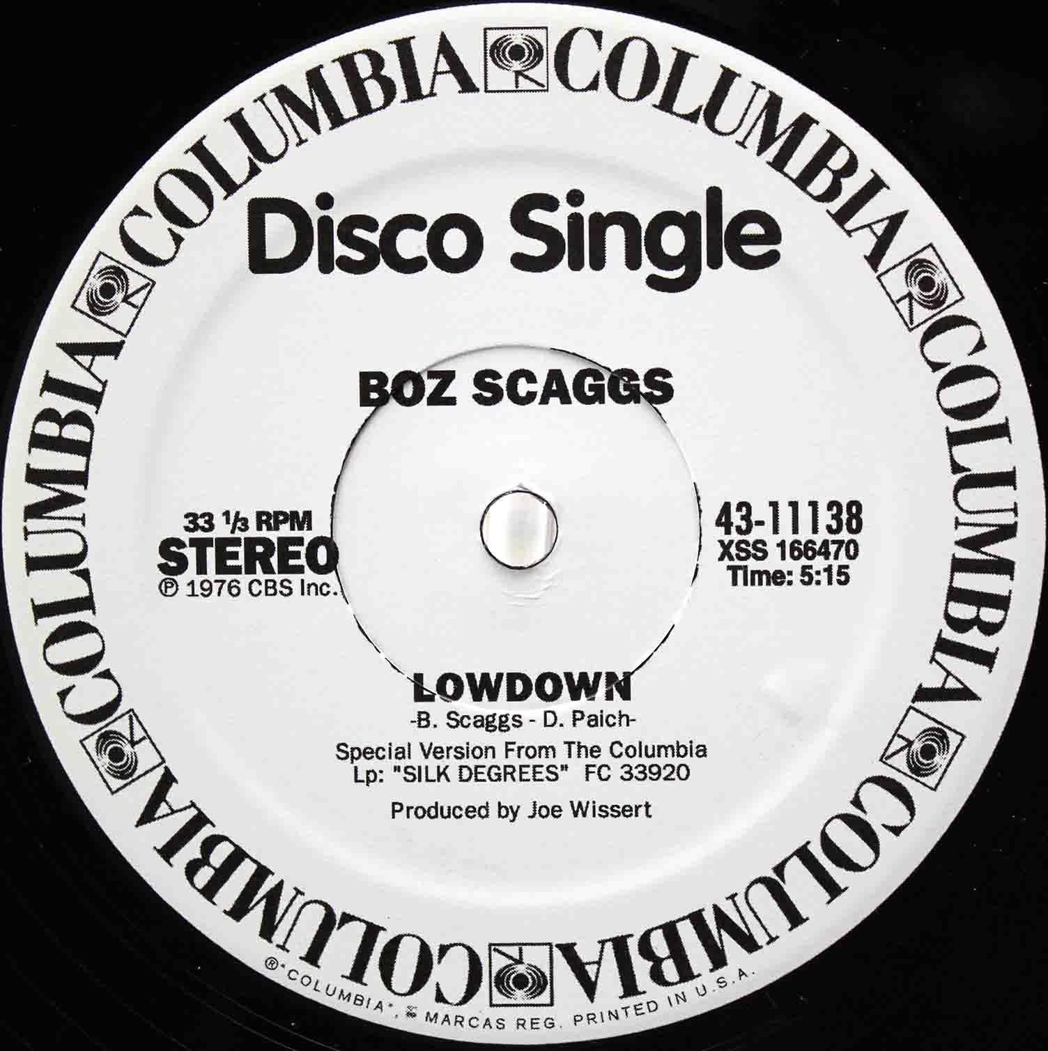 boz Scaggs Lowdown 02
