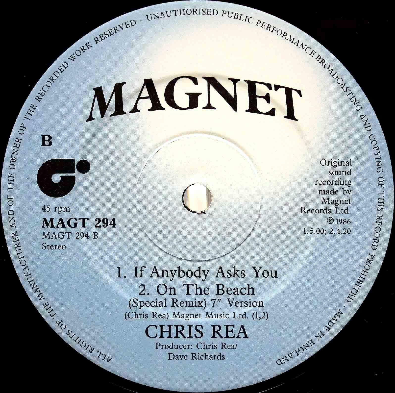 Chris Rea – On The Beach 04