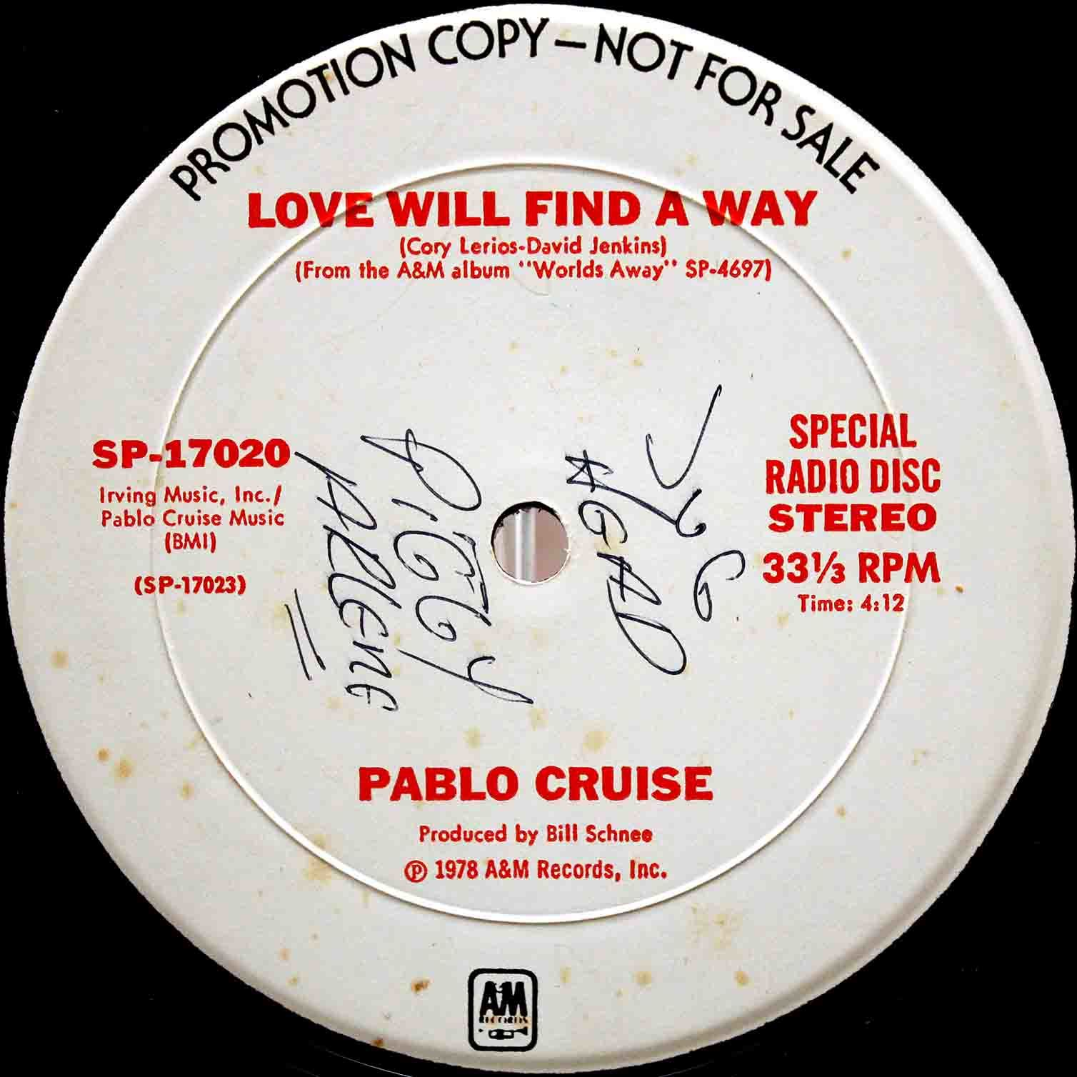 Pablo Cruise ‎– Love Will Find A Way 04
