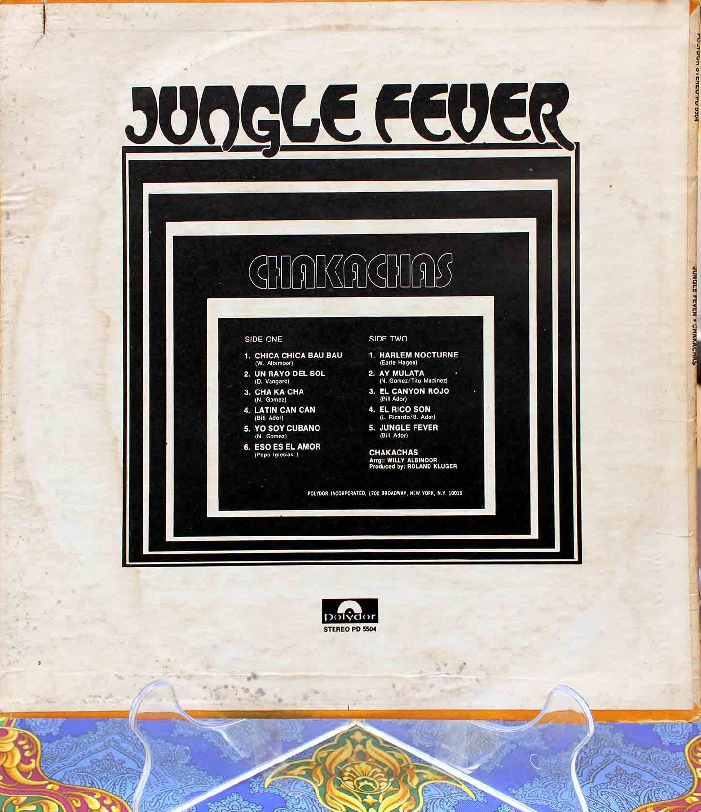 Chakachas ‎– Jungle Fever 02