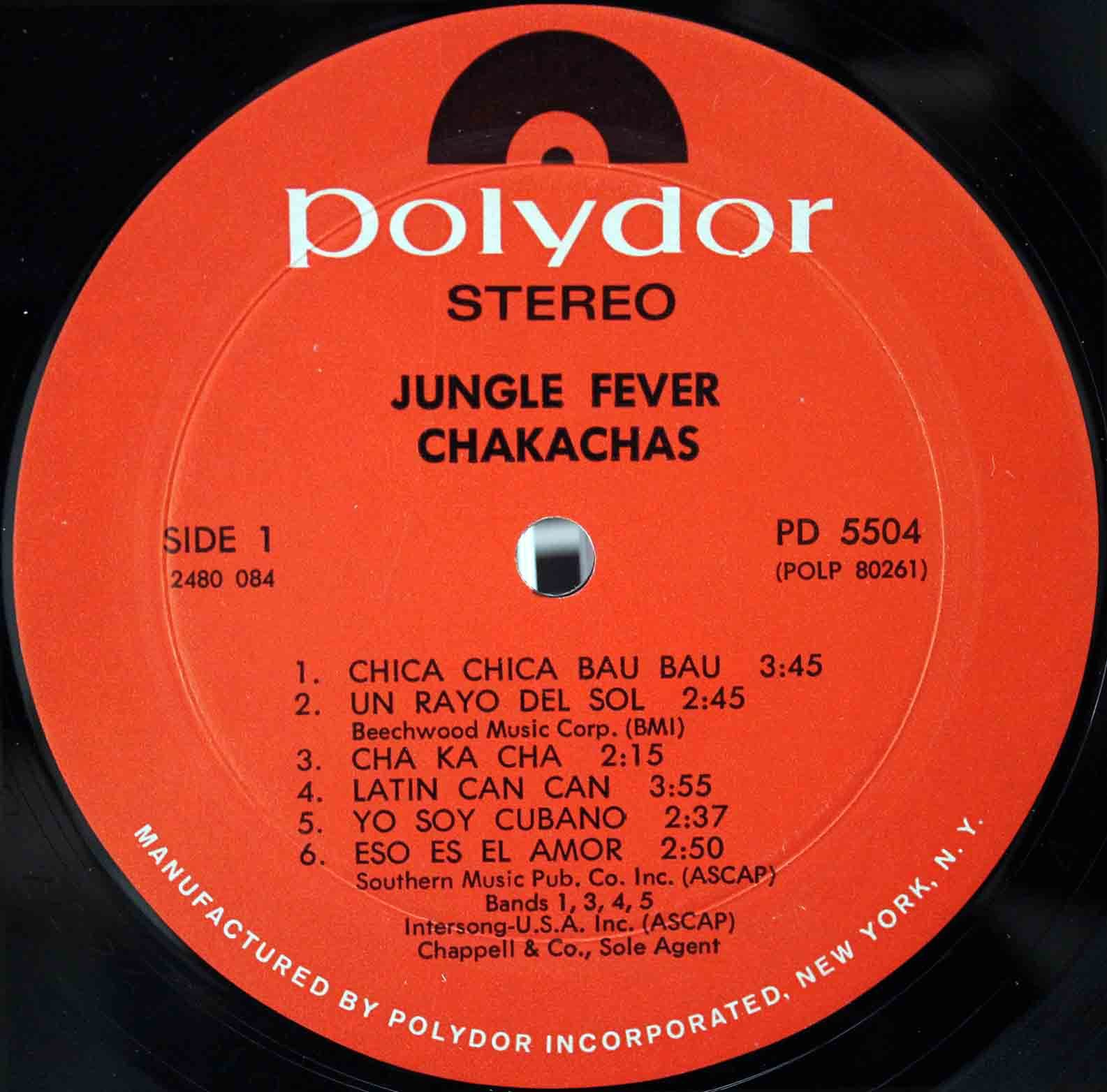 Chakachas ‎– Jungle Fever 03