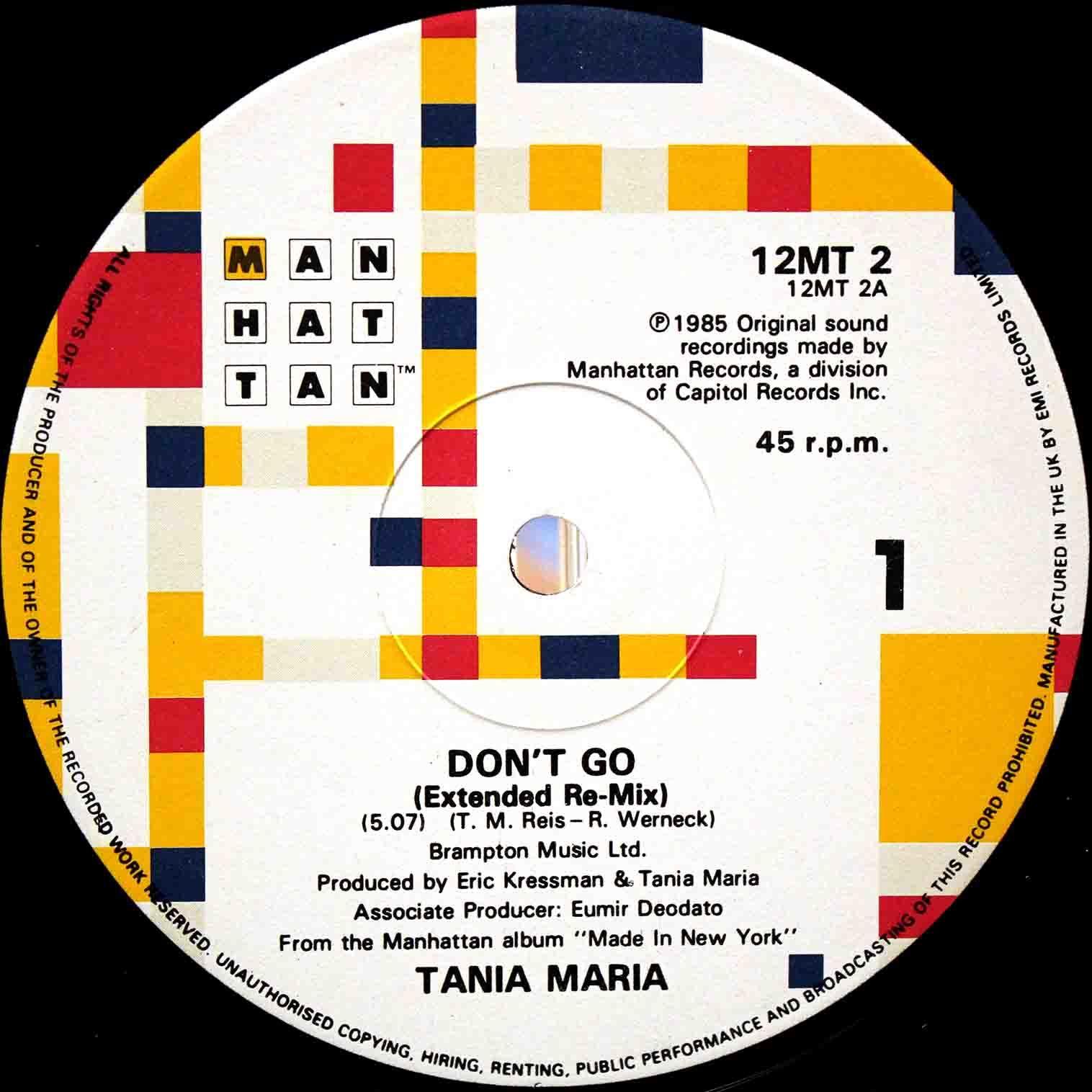 Tania Maria Don`t Go 03