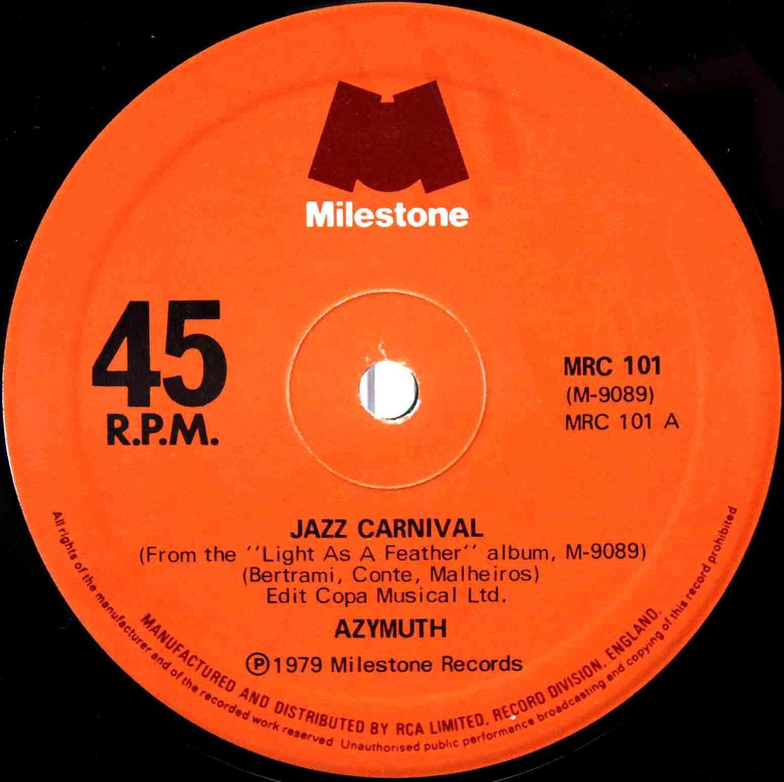 Azymuth ‎– Jazz Carnival 02