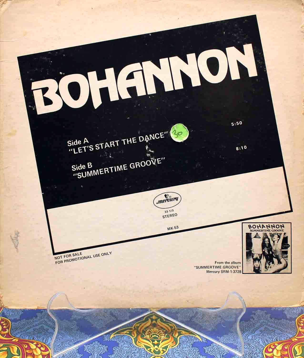 Bohannon - Lets Start The Dance 01