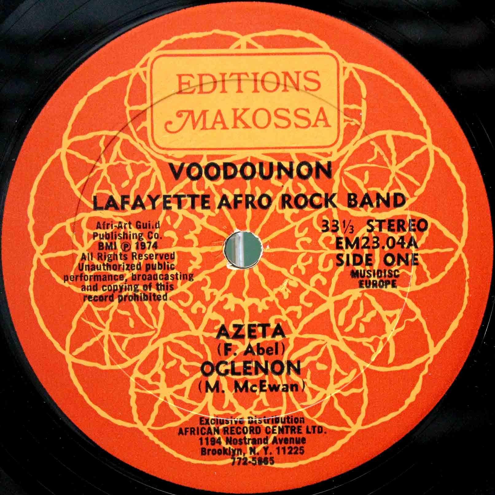 Lafayette Afro Rock Band – Voodounon 03