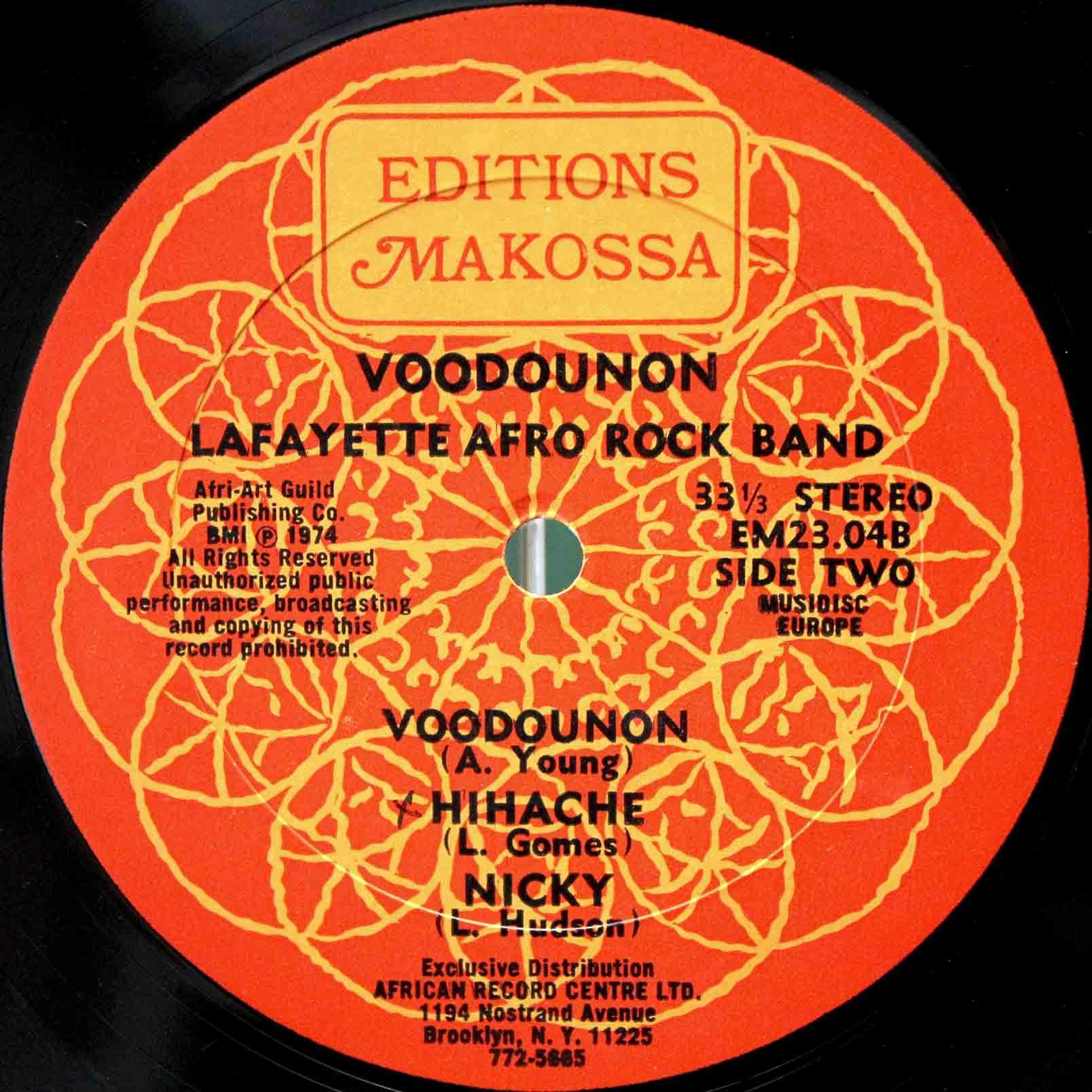 Lafayette Afro Rock Band – Voodounon 04