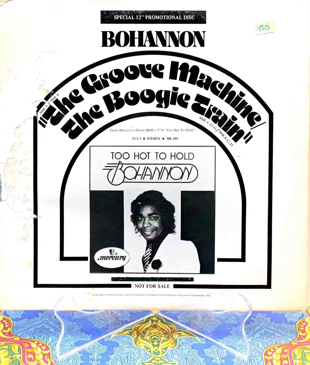Bohannon - The Groove Machine 01