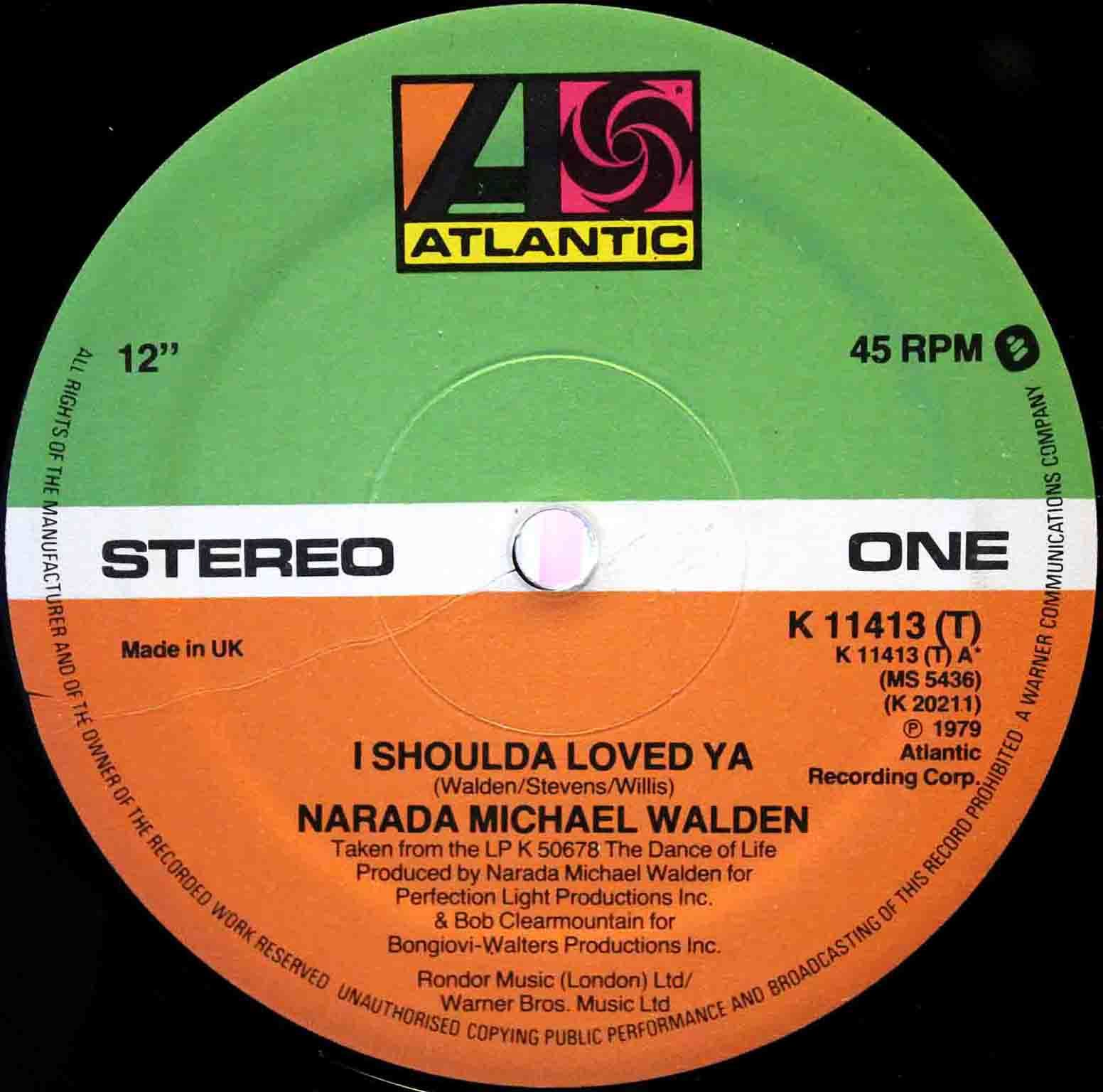 Narada Michael Walden ‎– I Shoulda Loved Ya 03